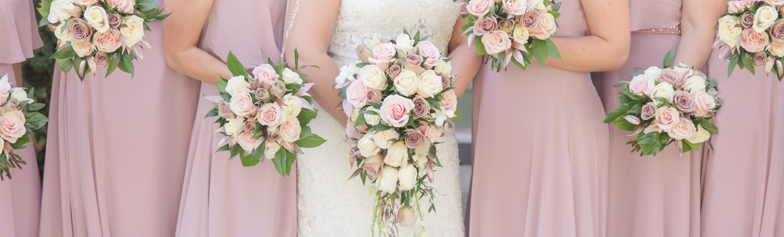 bouquets & pink