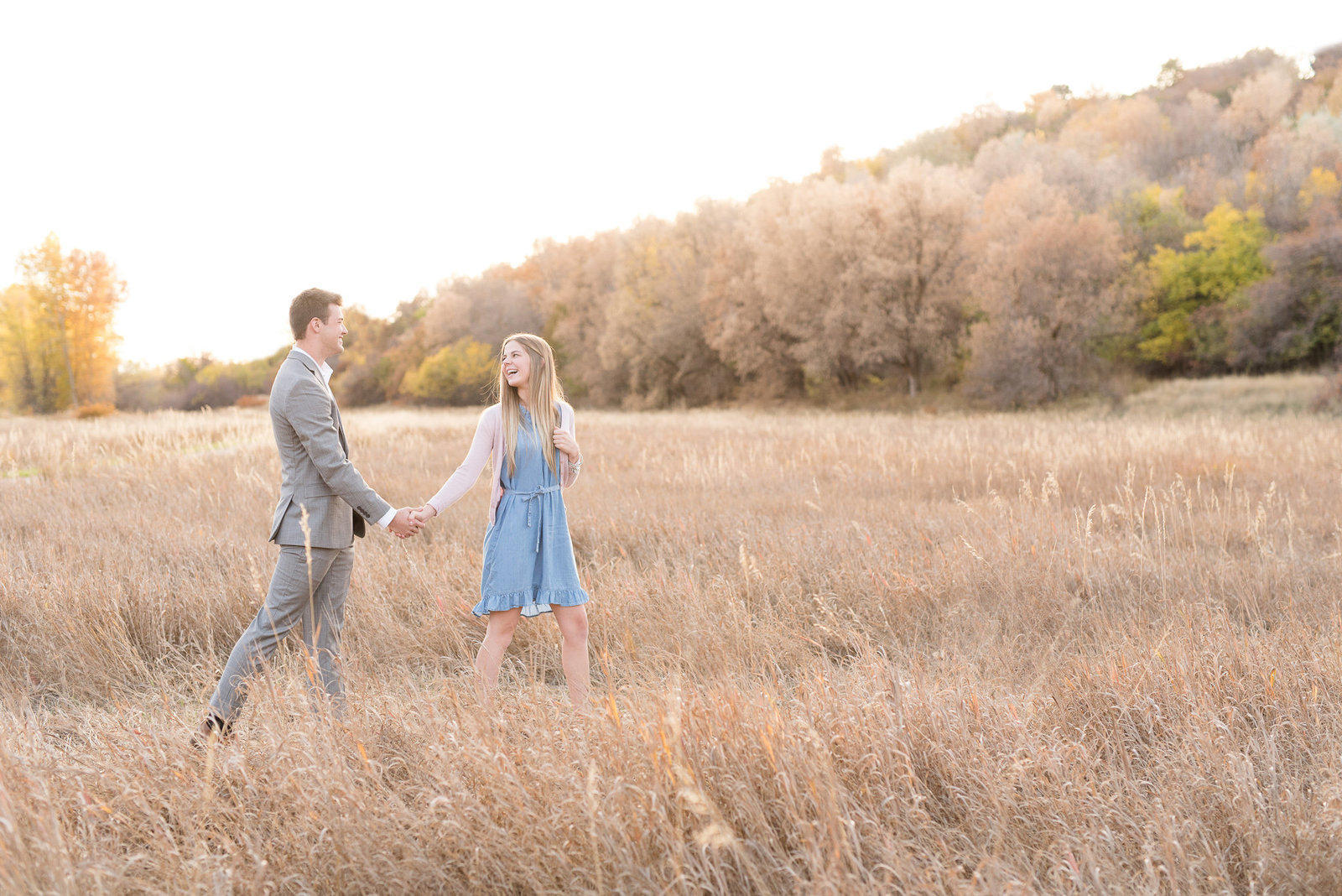 Layton Fall Engagement Photography - Utah Wedding Photographers-4
