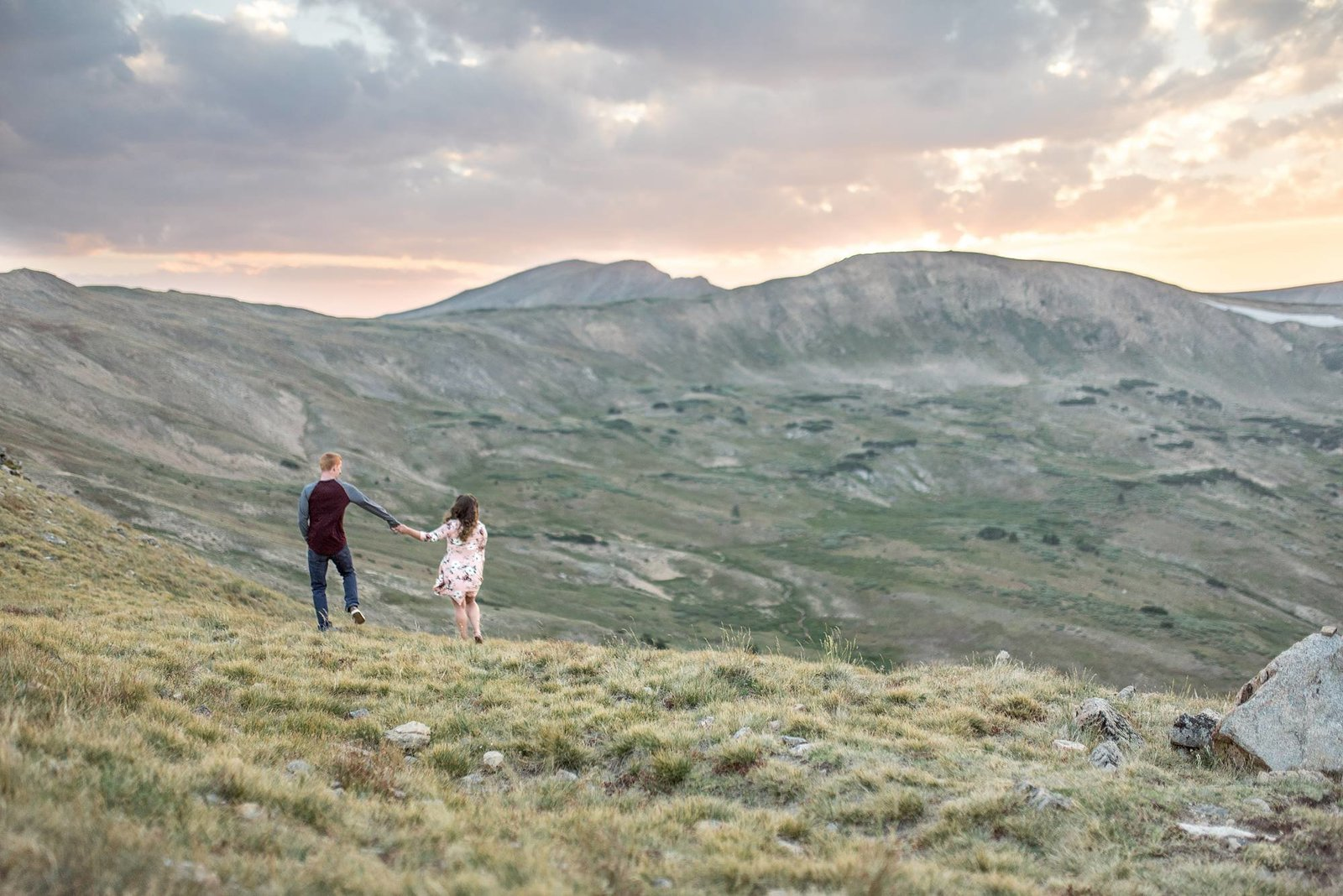 RMNP engagement portraits photographer