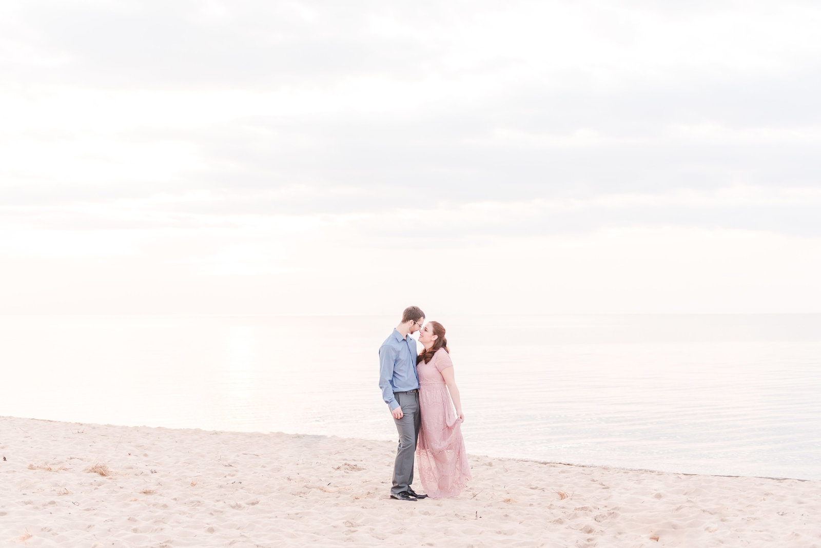 Engagement Session at the Indiana Dunes