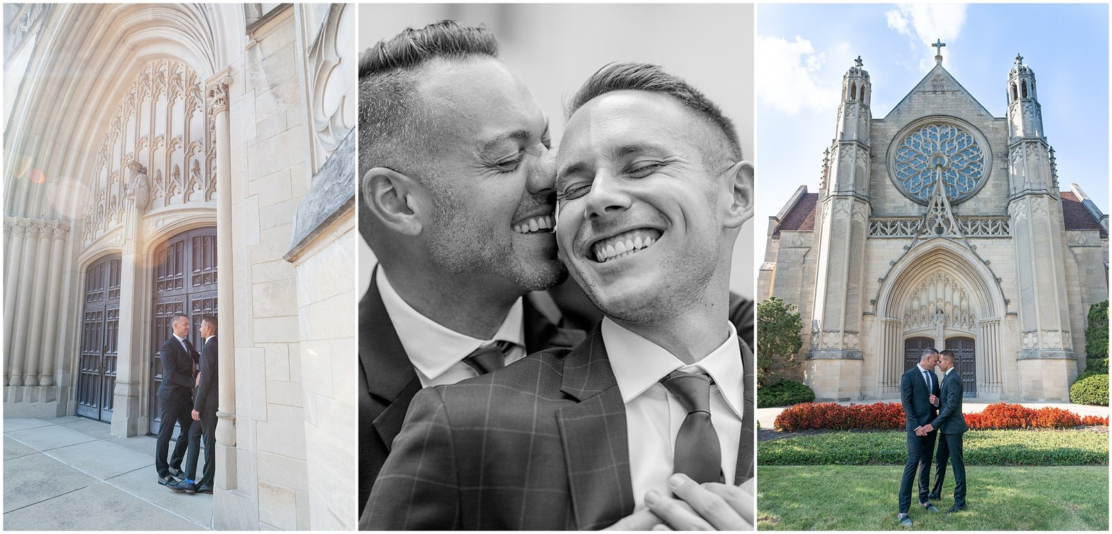 Gay Wedding Photography in Indianapolis