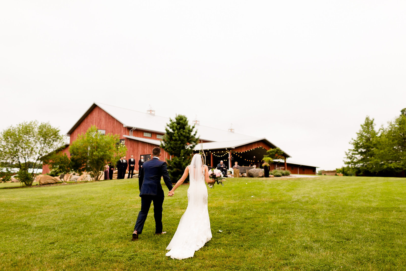 The Barn at Hornbaker Gardens Wedding Photos-163