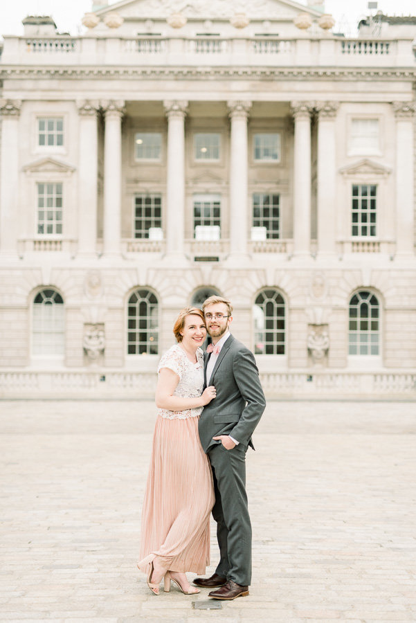 London Somerset House Engagement Session Photo | Tucson Wedding Photographer | West End Photography