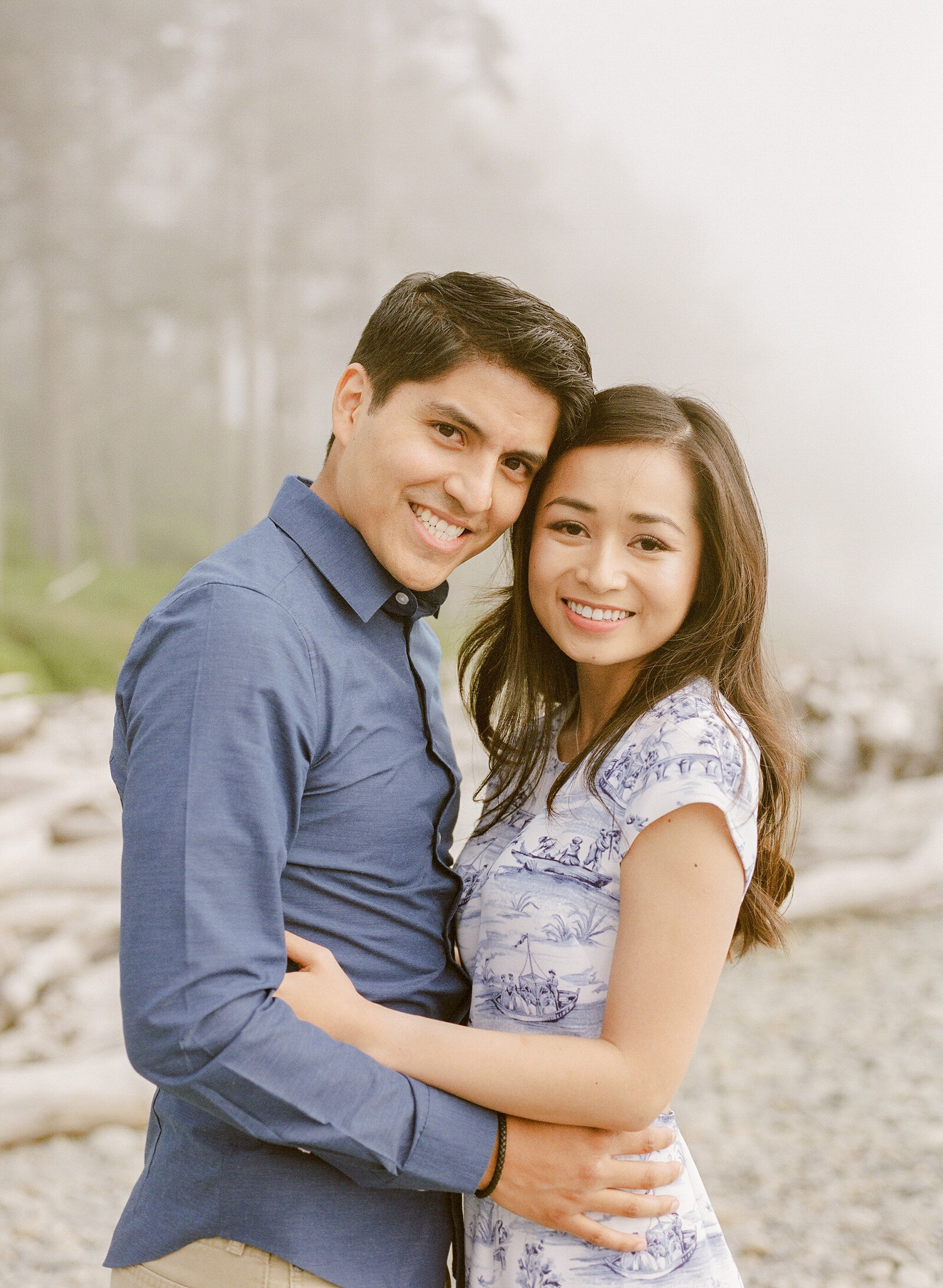 M & M Engagement at Ruby beach (1)