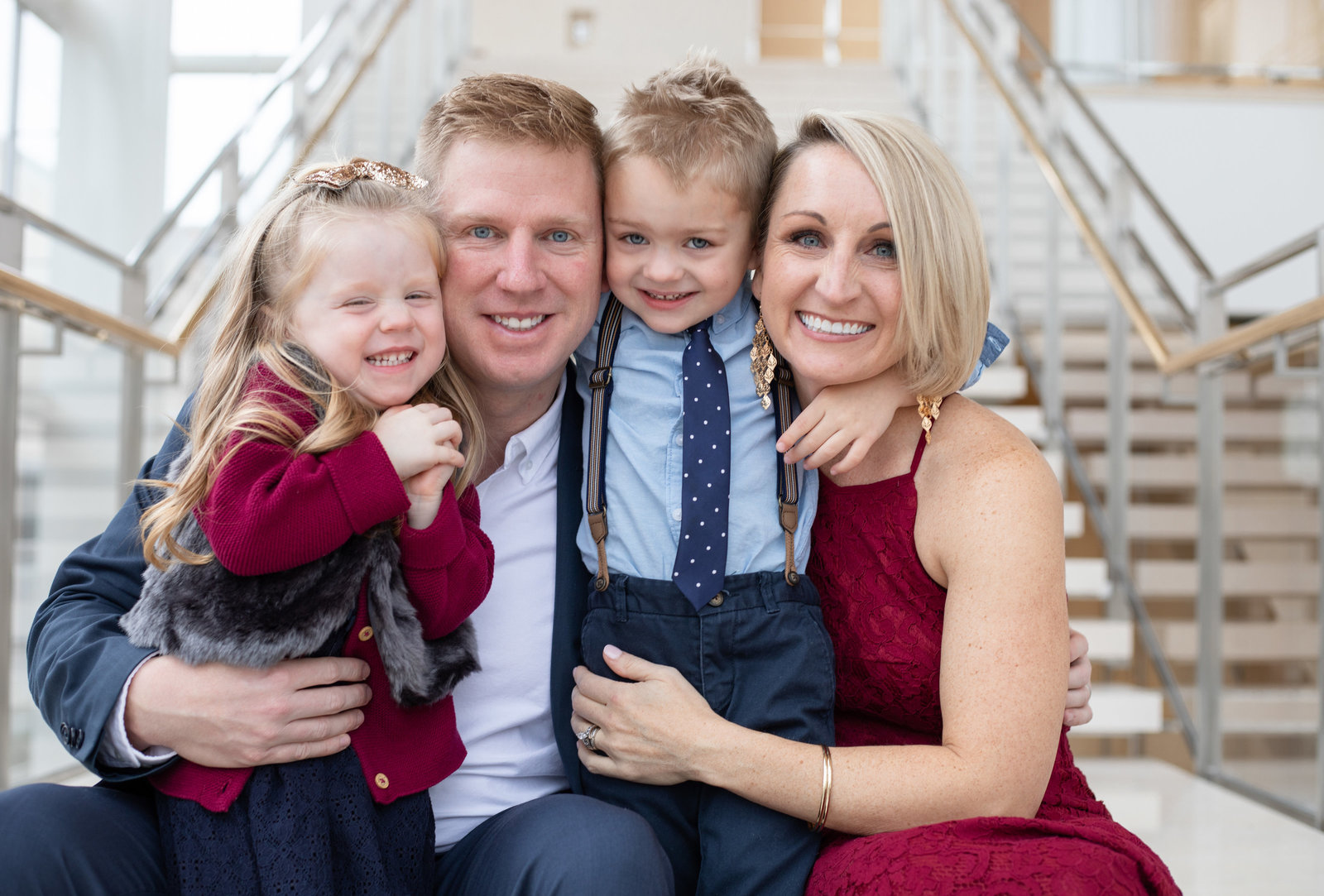 Overture Center Family Session Downtown Madison