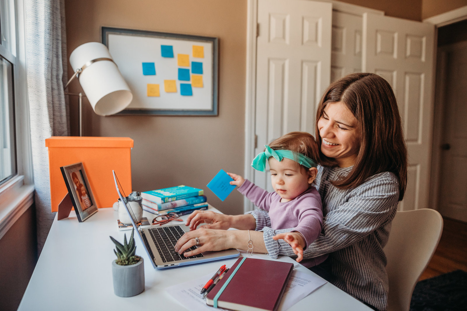work at home mother portrait in northborough ma