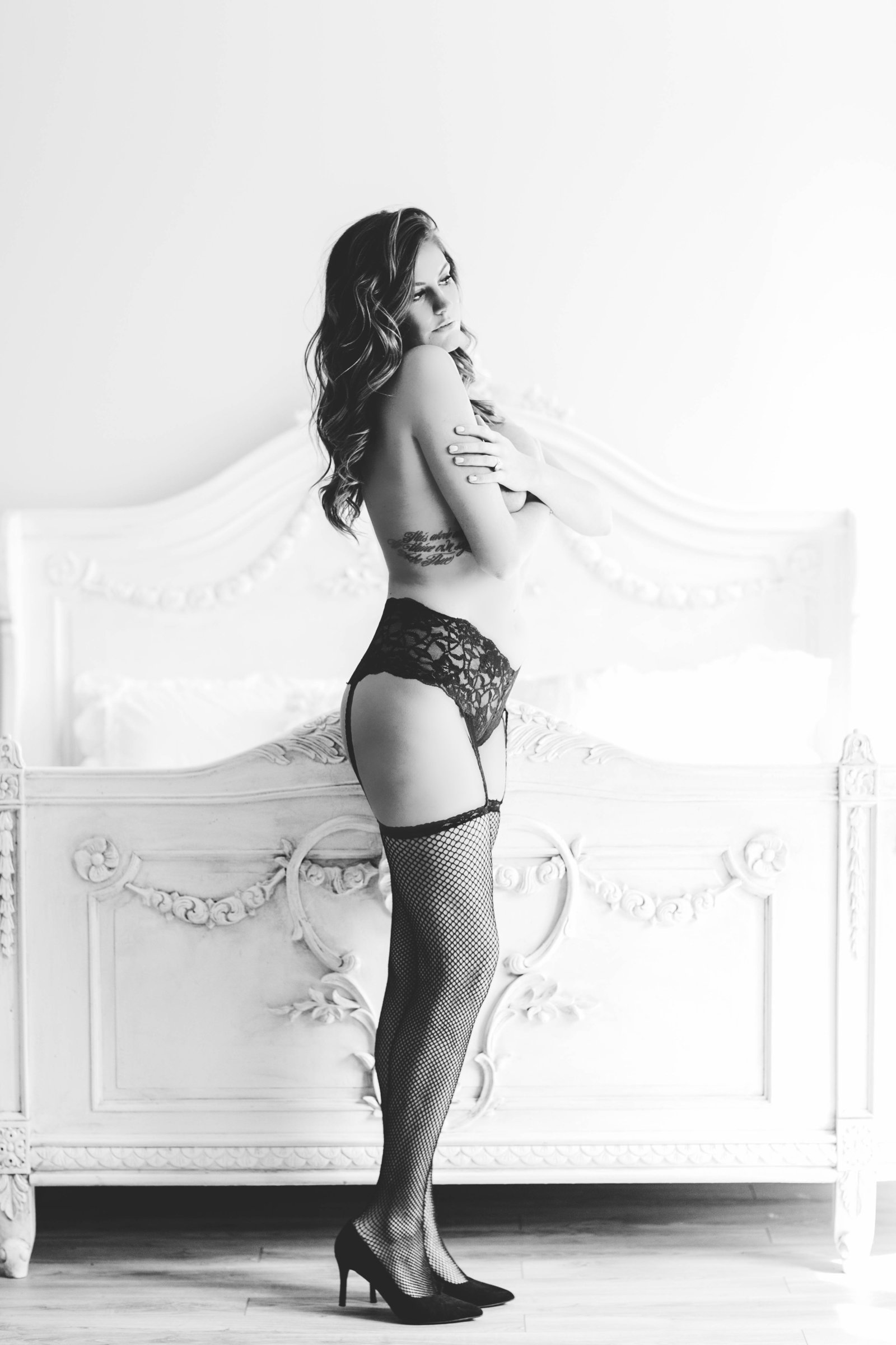 Virginia Beach bridal boudoir