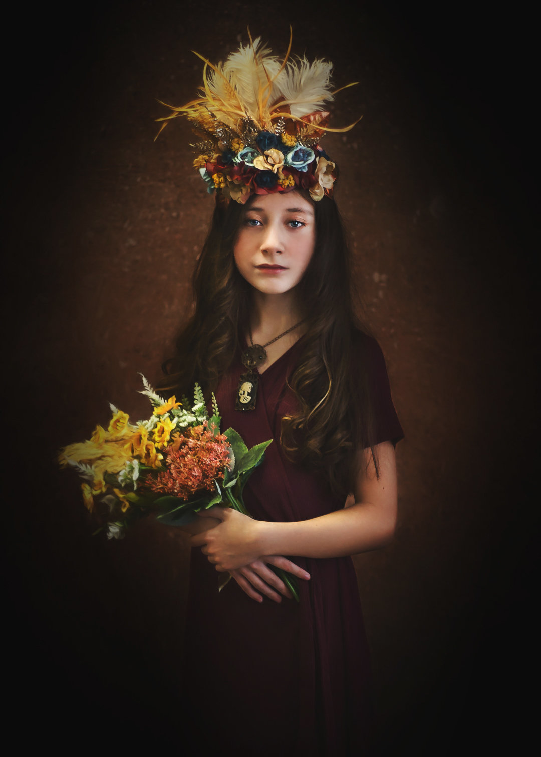 Fall Queen-Girl-Fine Art-Portrait.jpg