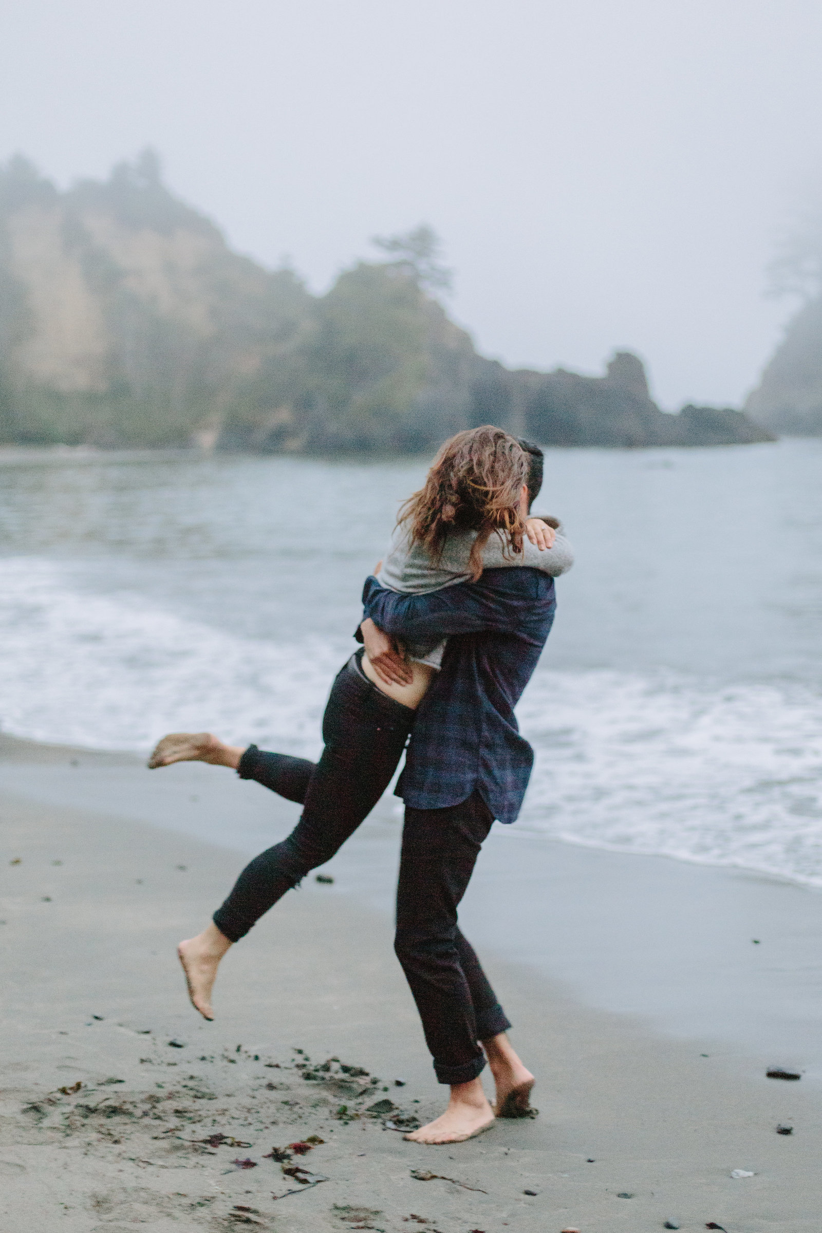 Redwood National Park Avenue of the Giants Engagement Session -7849