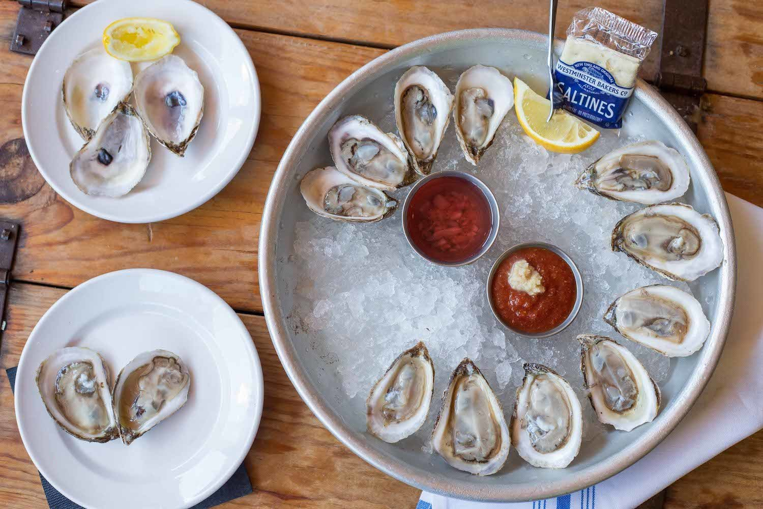 Oyster bar Leesburg - Food and Restaurant Photography - Frenchly - 3578