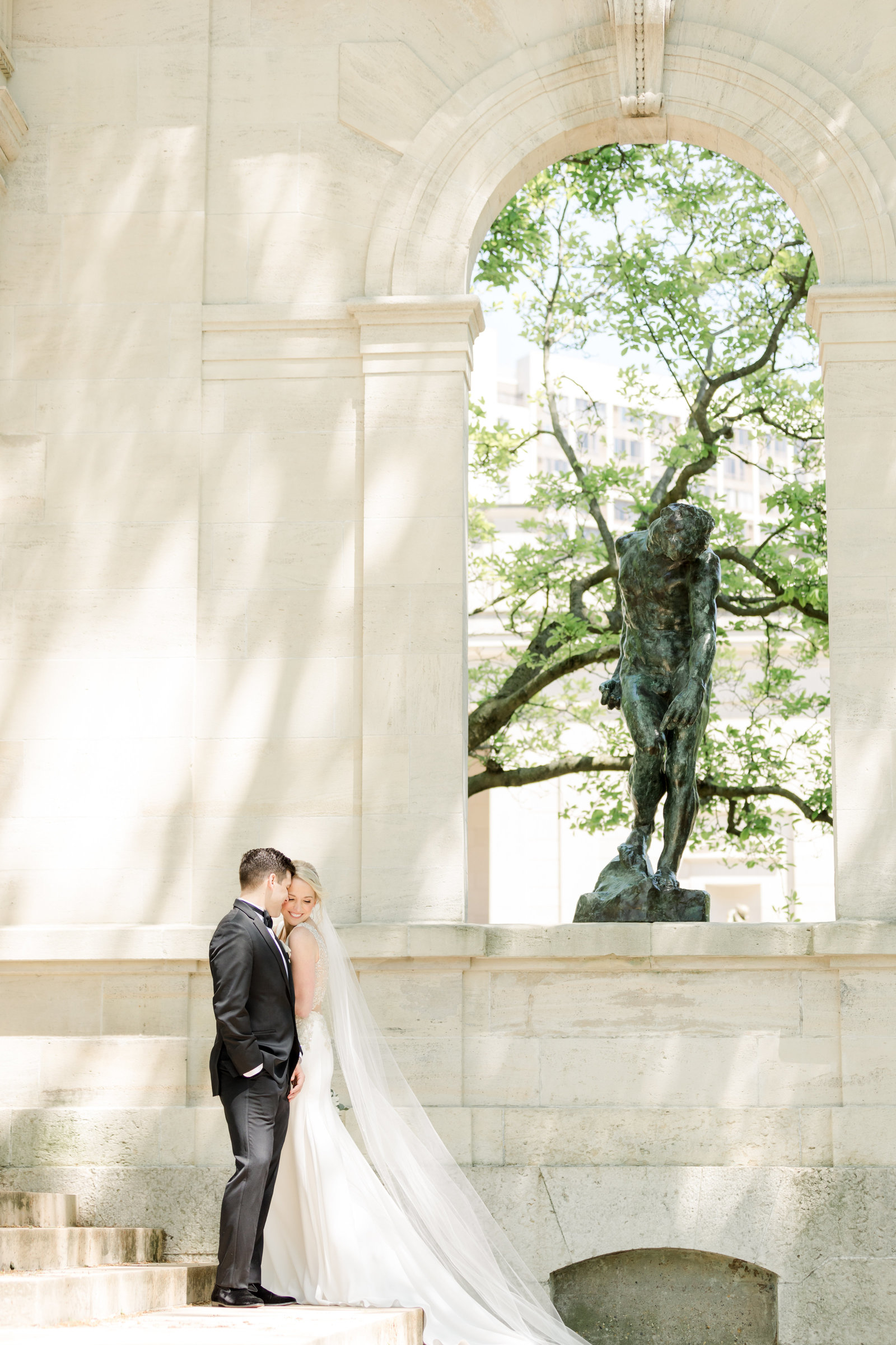 Franklin Institute Wedding Photographer Photo-29
