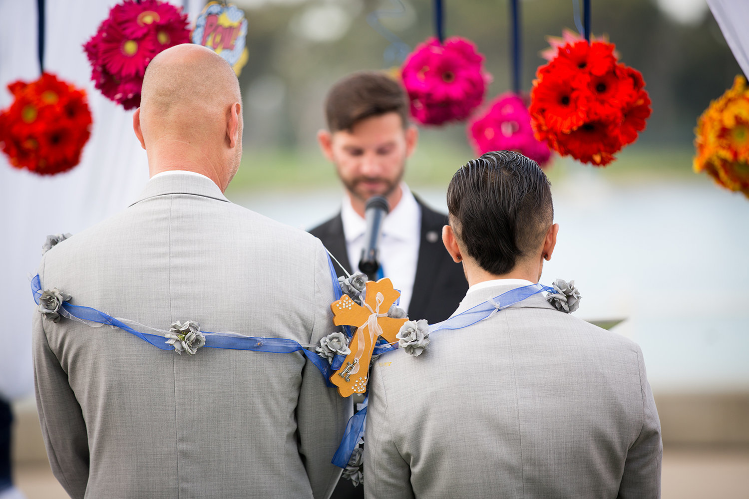 Rosary Cross | LGBT Wedding | Coronado