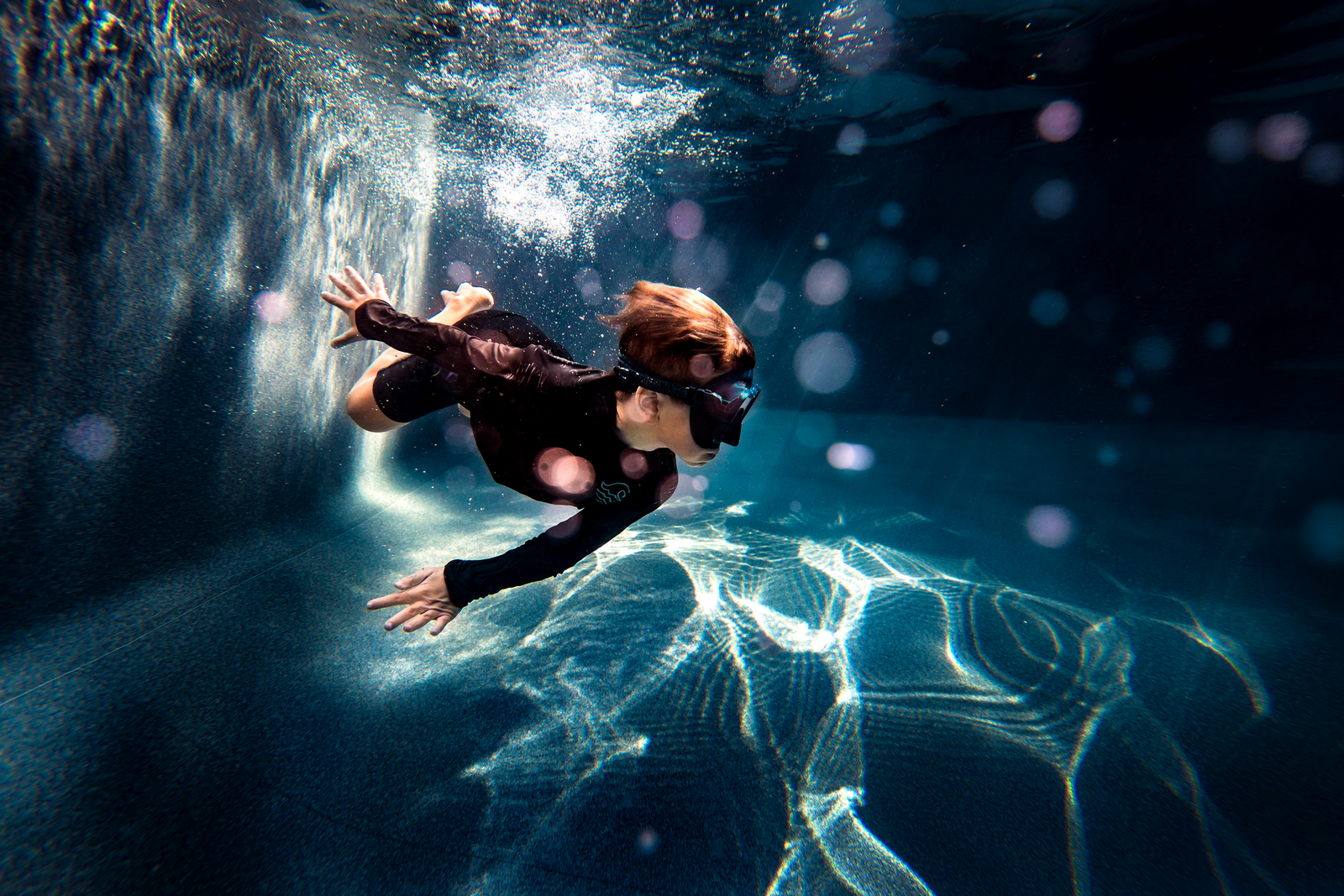 underwater photographer, columbus, ga, atlanta, pool, young boy swimming, bokeh, ker-fox photography_2064