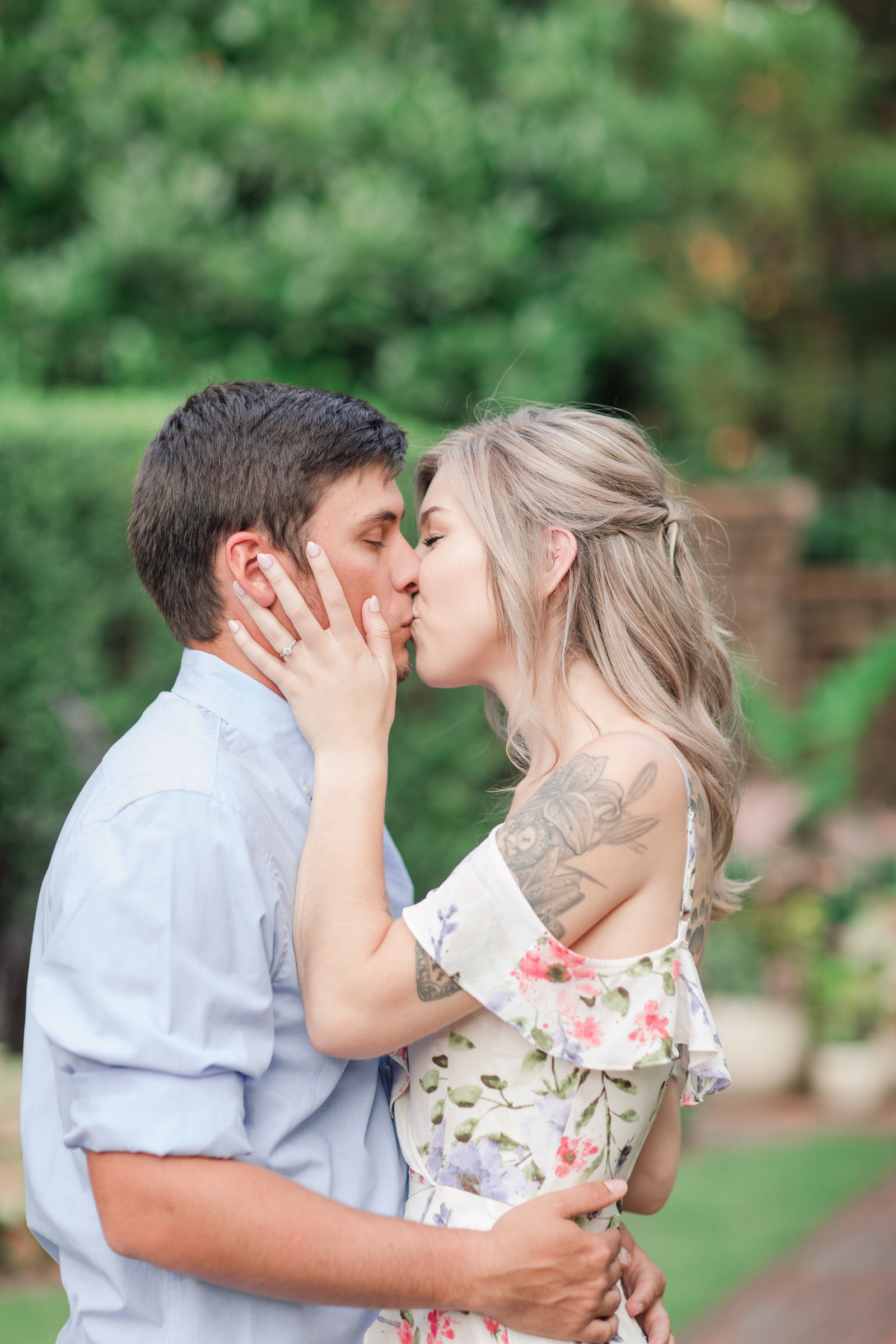 Jennifer B Photography-Sandhills Horticultural Gardens Engagement-Pinehurst NC-Cody and Kayla-2019-0160