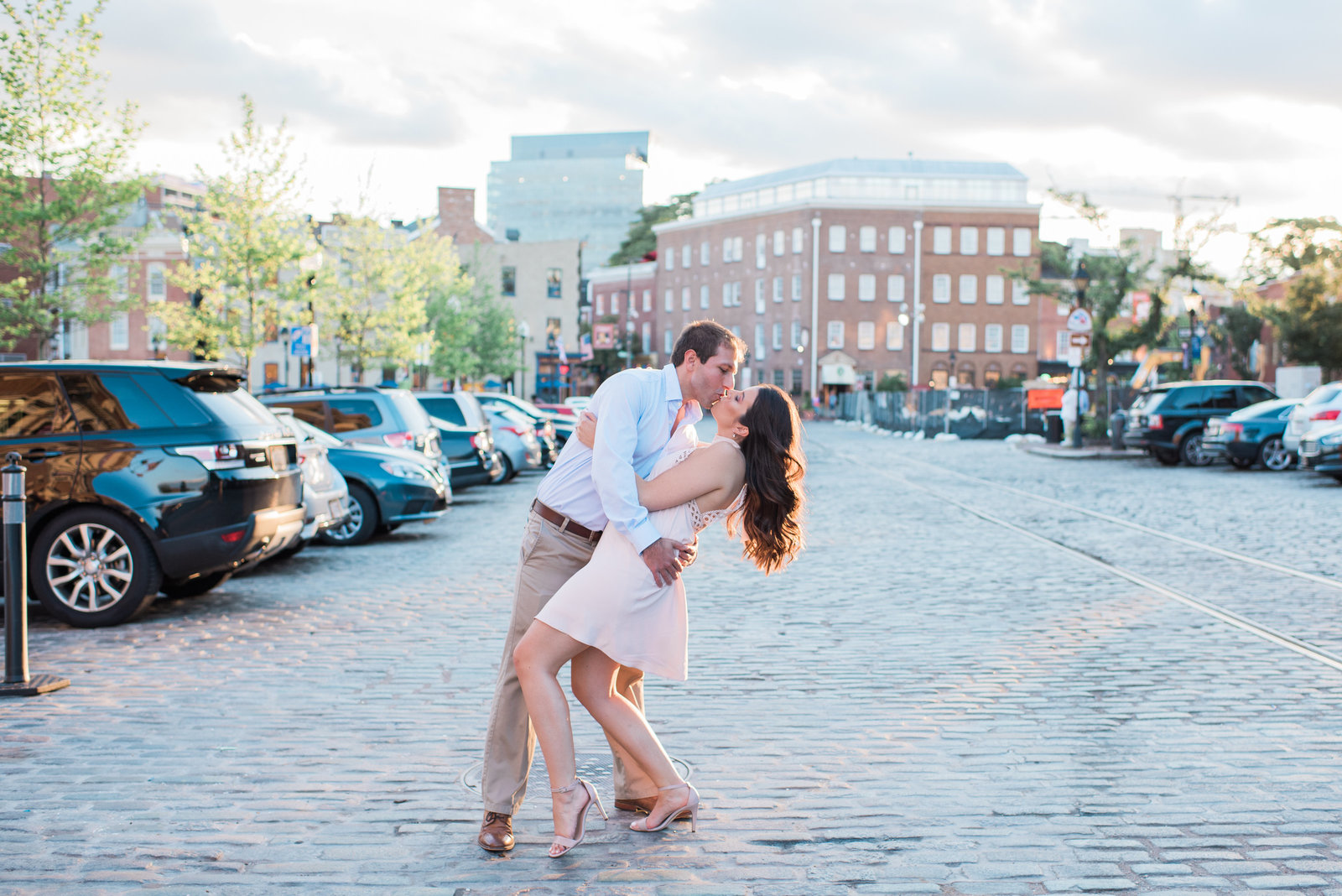 Fells Point Engagement Photographer