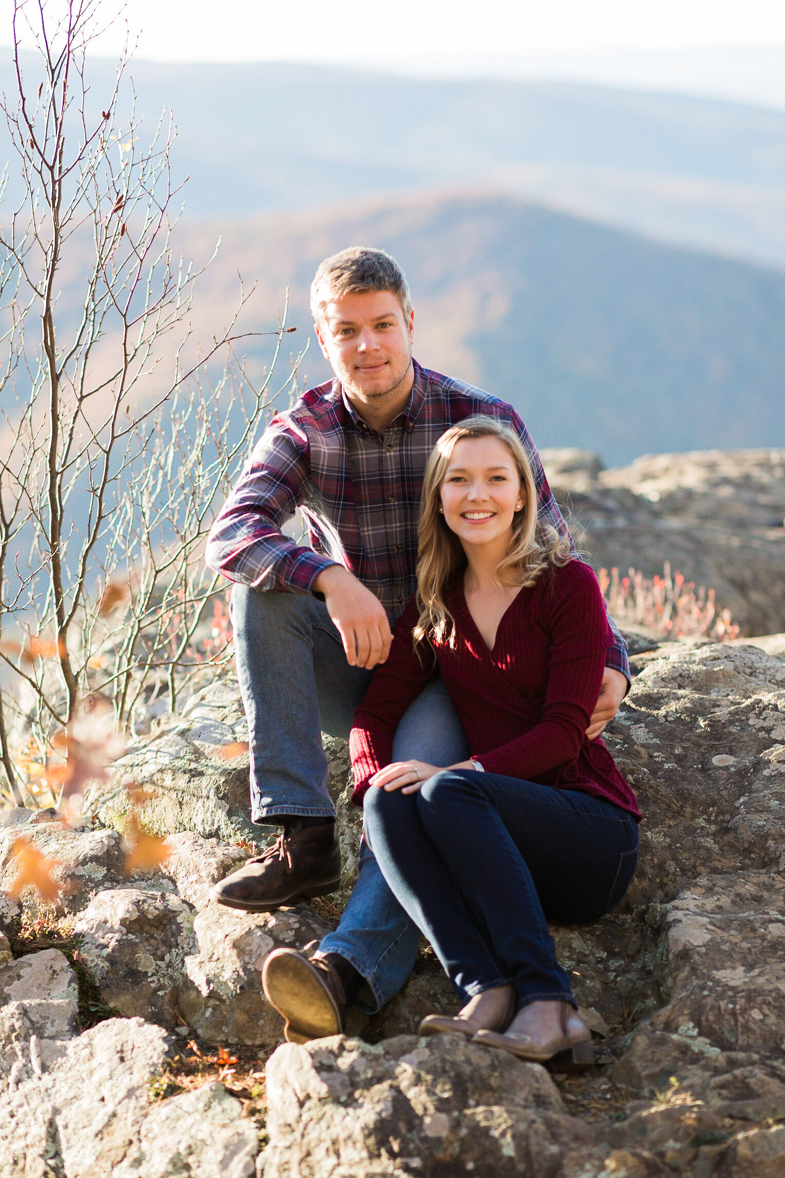 Fall Mountain Engagement Session in the Shenandoah Valley-15