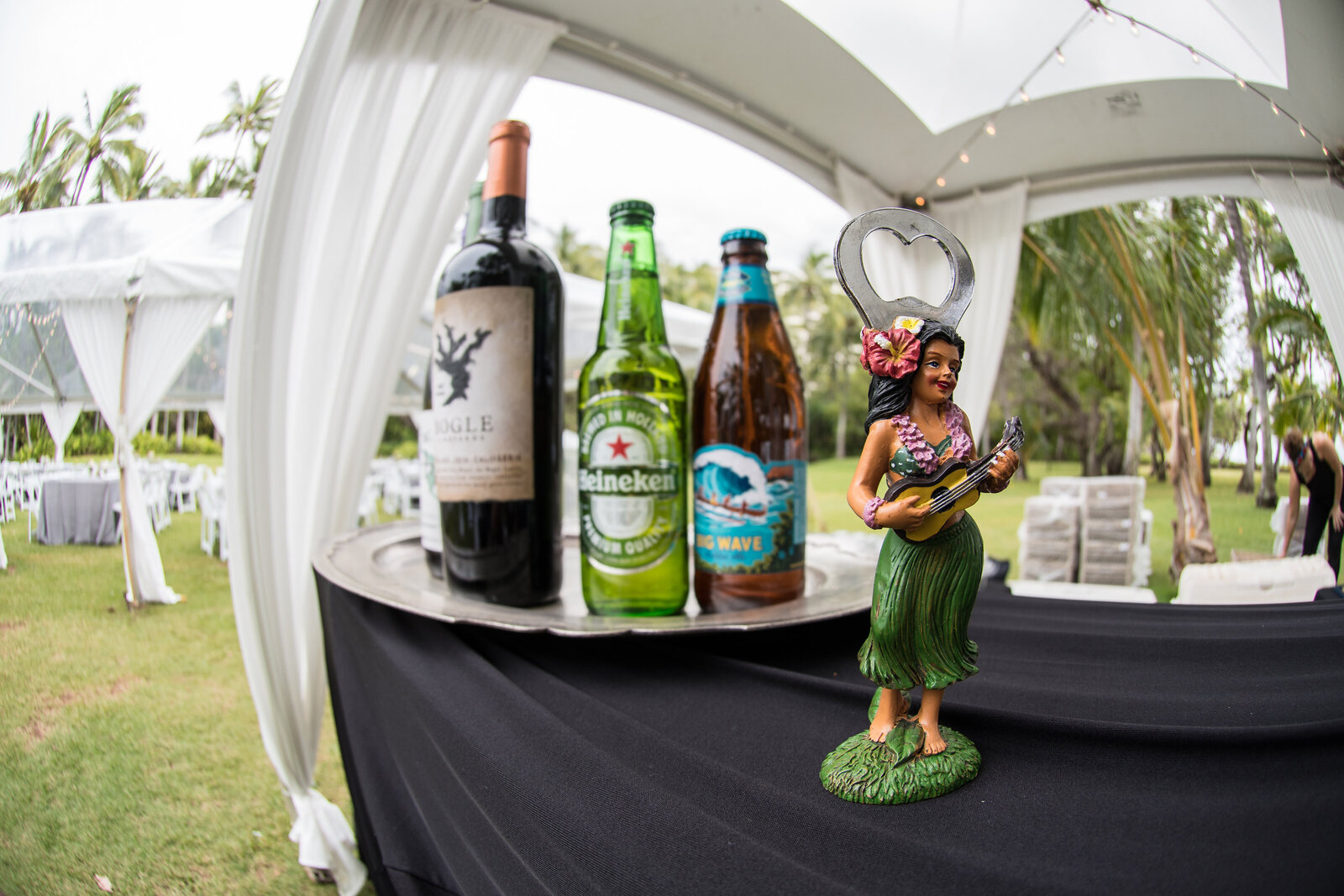 Island Beer and Hula Bottle Opener- Lanikuhonua, Hawaii