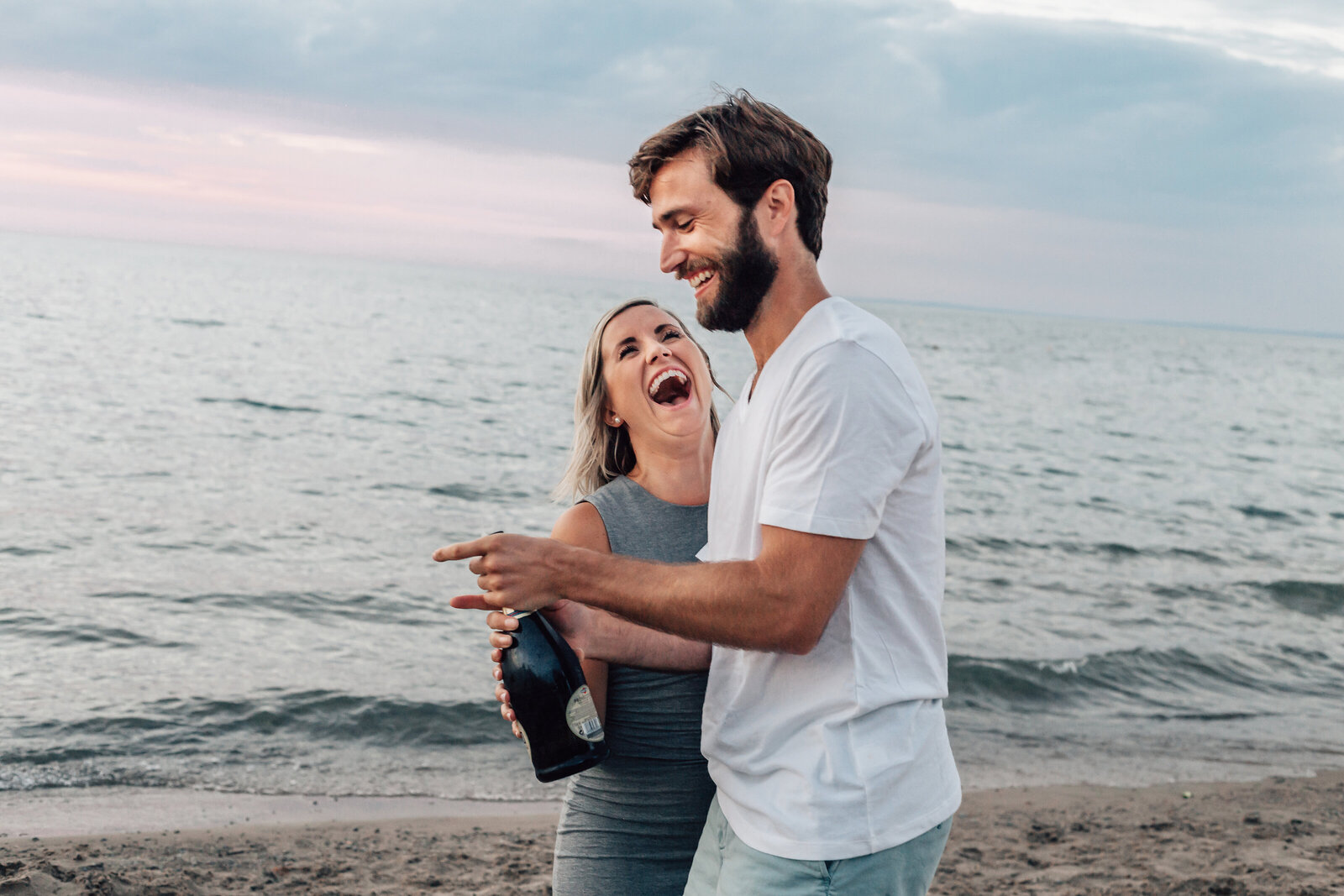 Wasaga Beach Engagement Session (2)