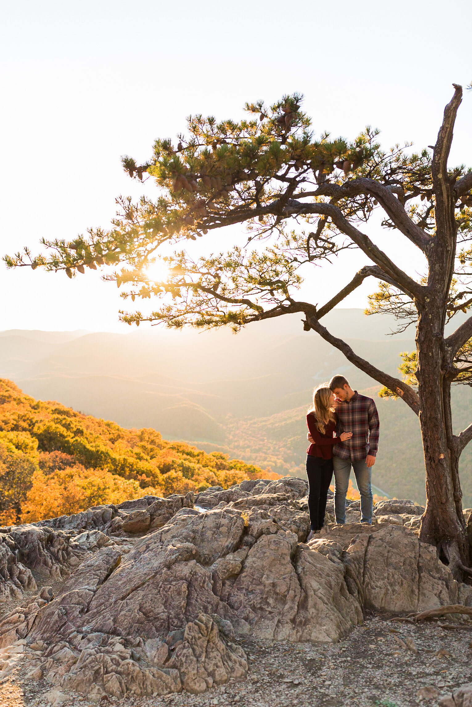 Fall Mountain Engagement Session in the Shenandoah Valley-24