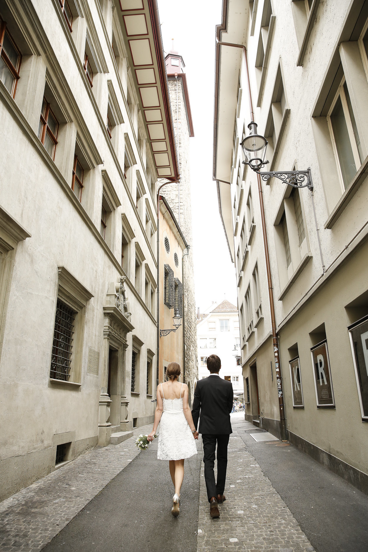 Luzern Lucerne wedding couple