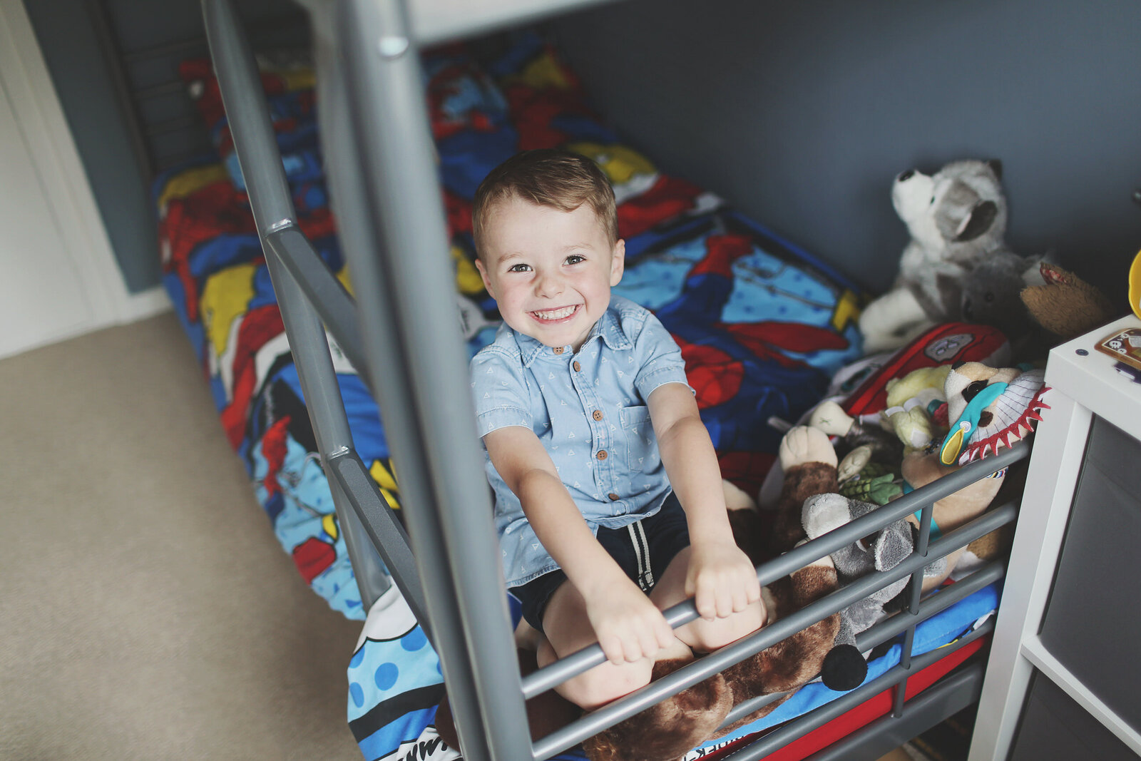 FP_FAMILY-LITTLE-BOY-SMILES-SPIDERMAN-BEDDING-0032
