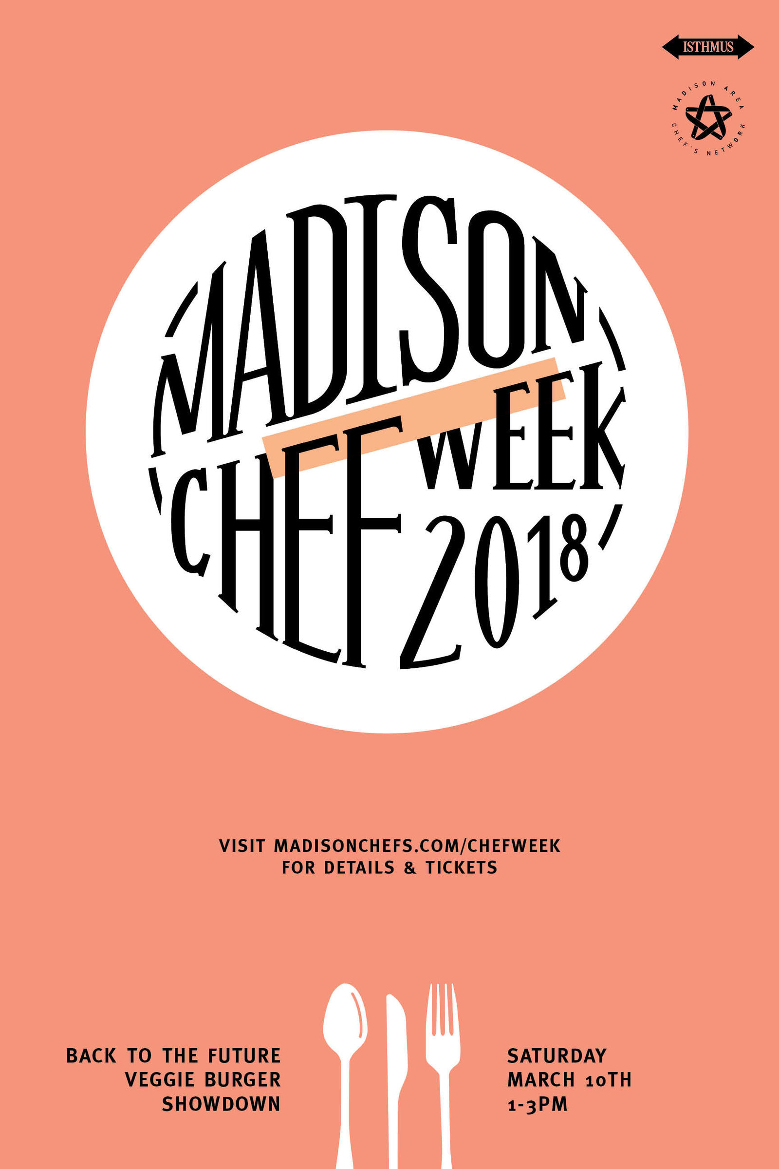 Event branding and collateral for Chef Week by Christie Evenson Design Co.