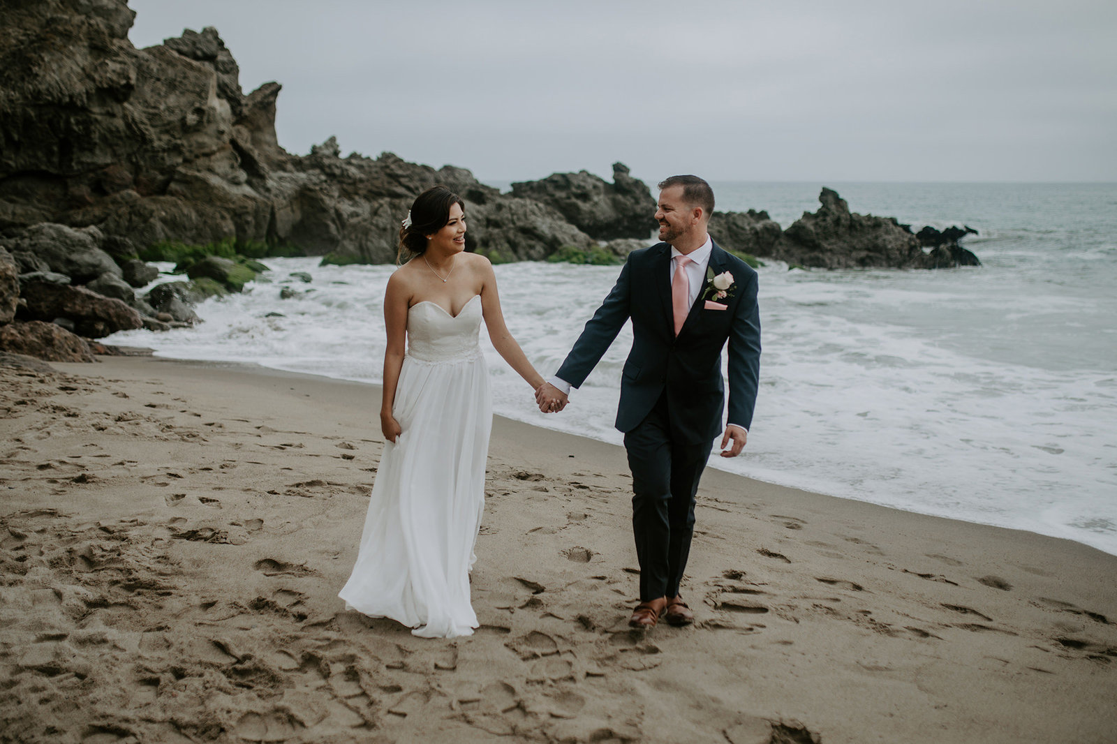 Malibu Elopement Photographer