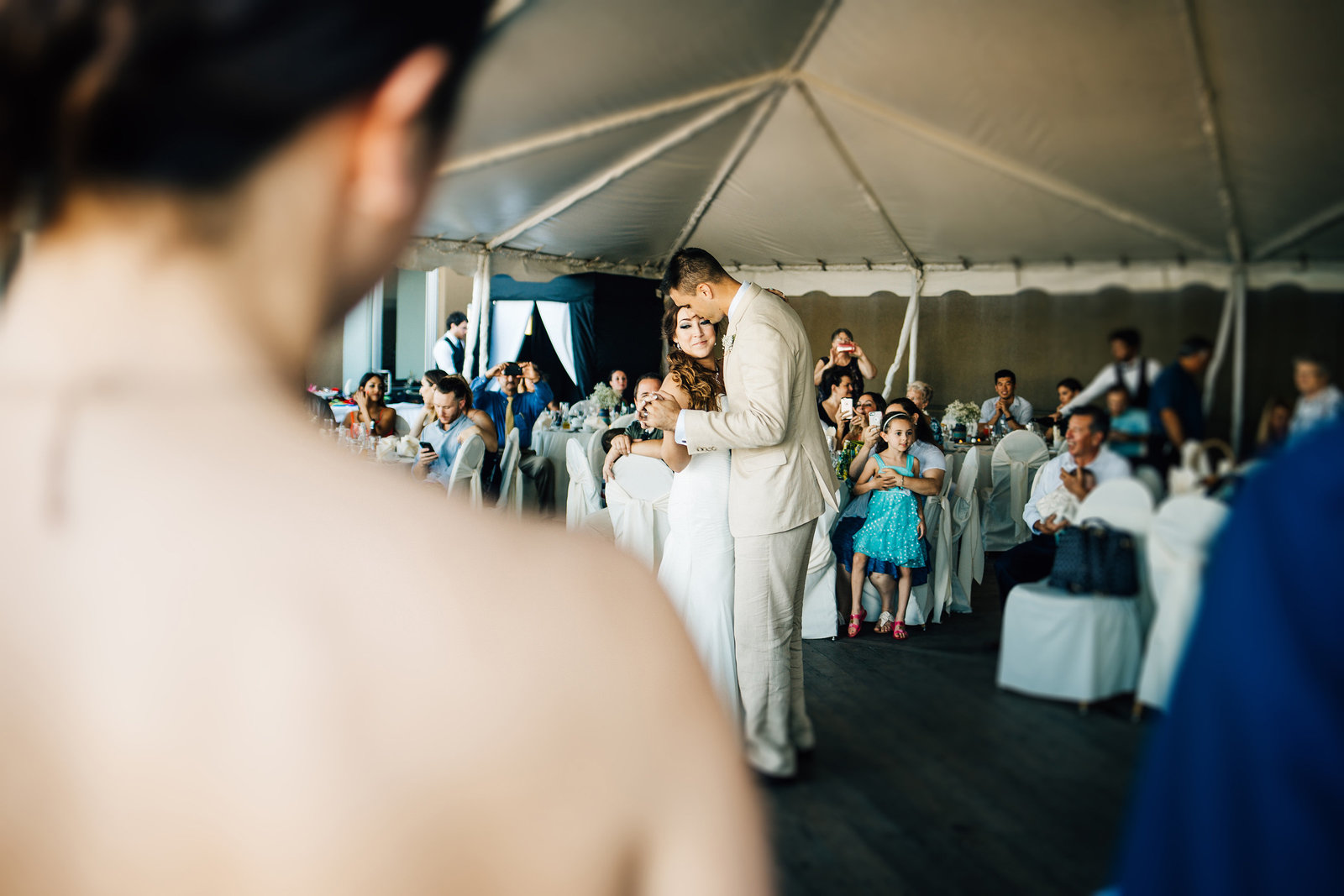 first-dance-tent-reception