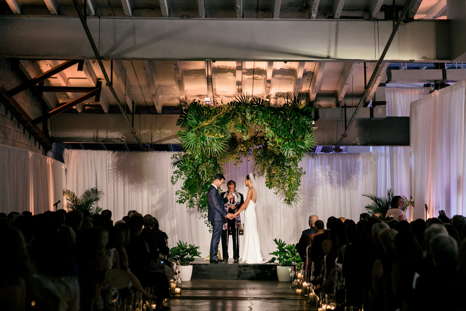 wedding ceremony industrial