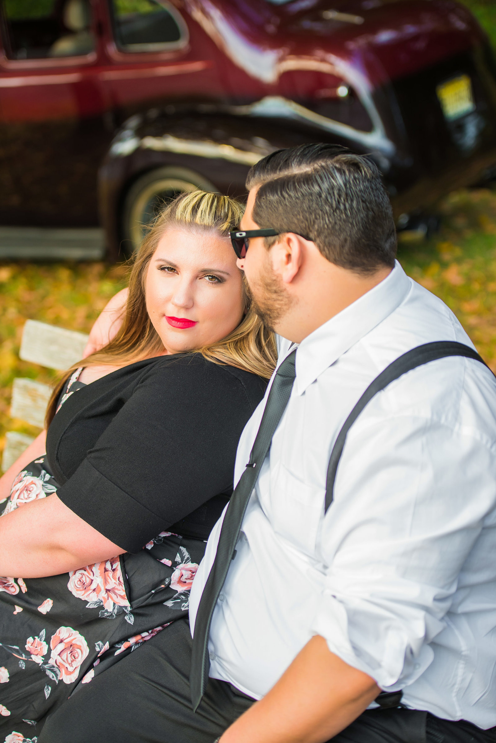 Retro_Pinup_Car_engagement_session_Nj067