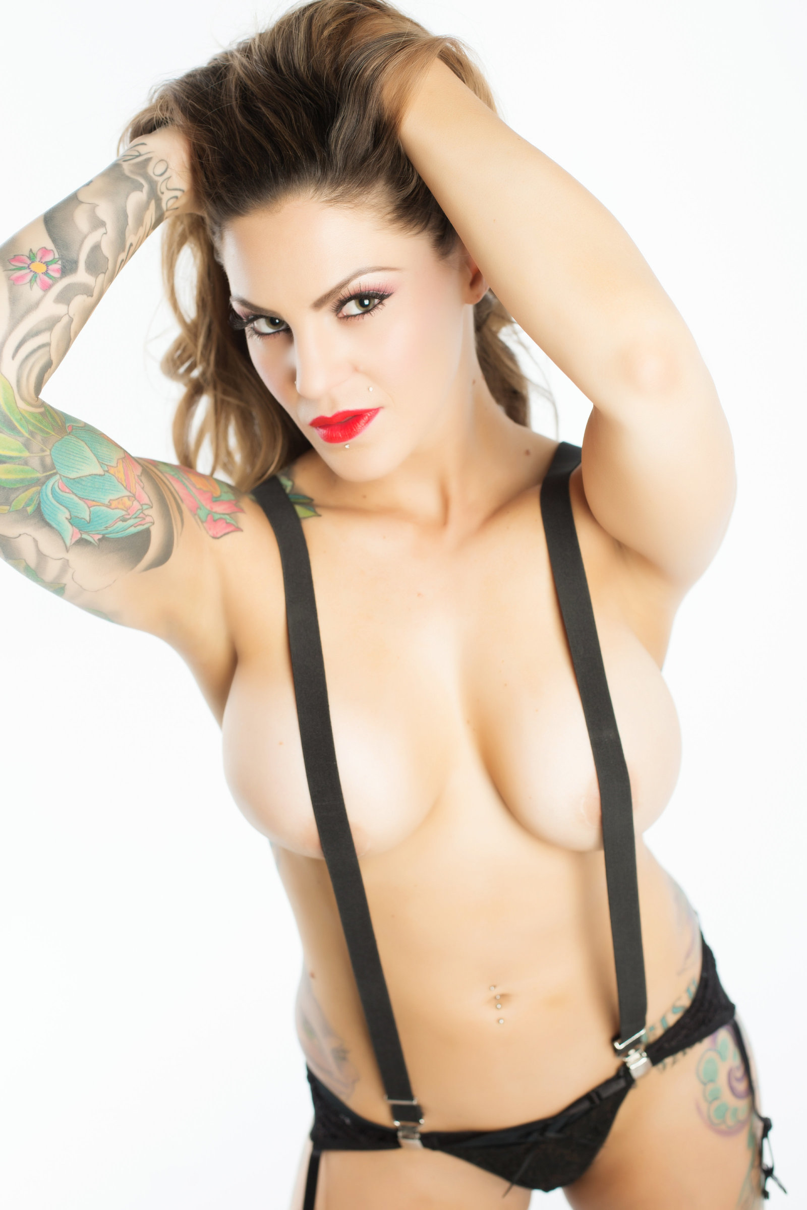 flirty tattoo boudoir, scottsdale az photography