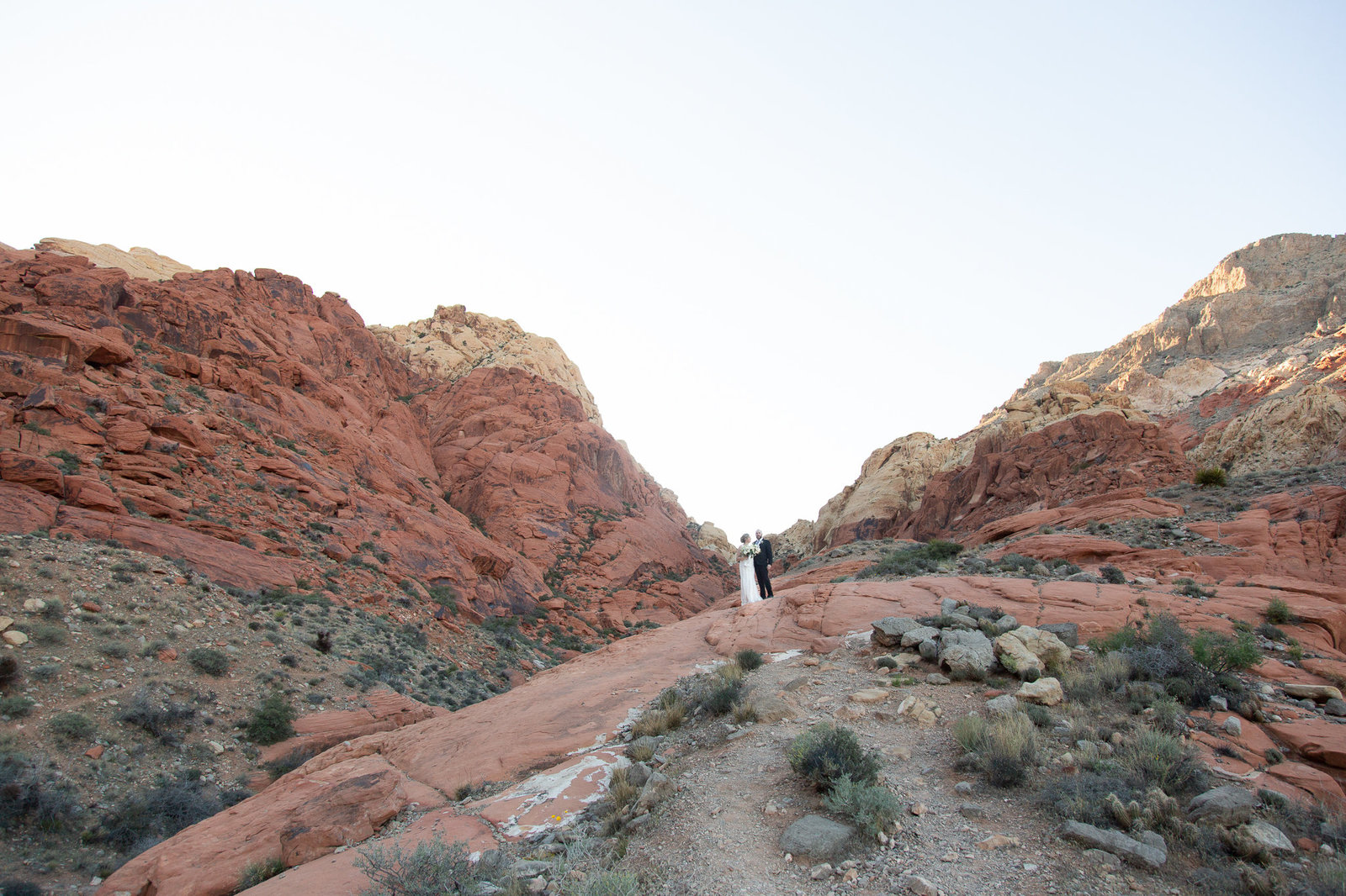International Destination Wedding in Red Rock Canyon