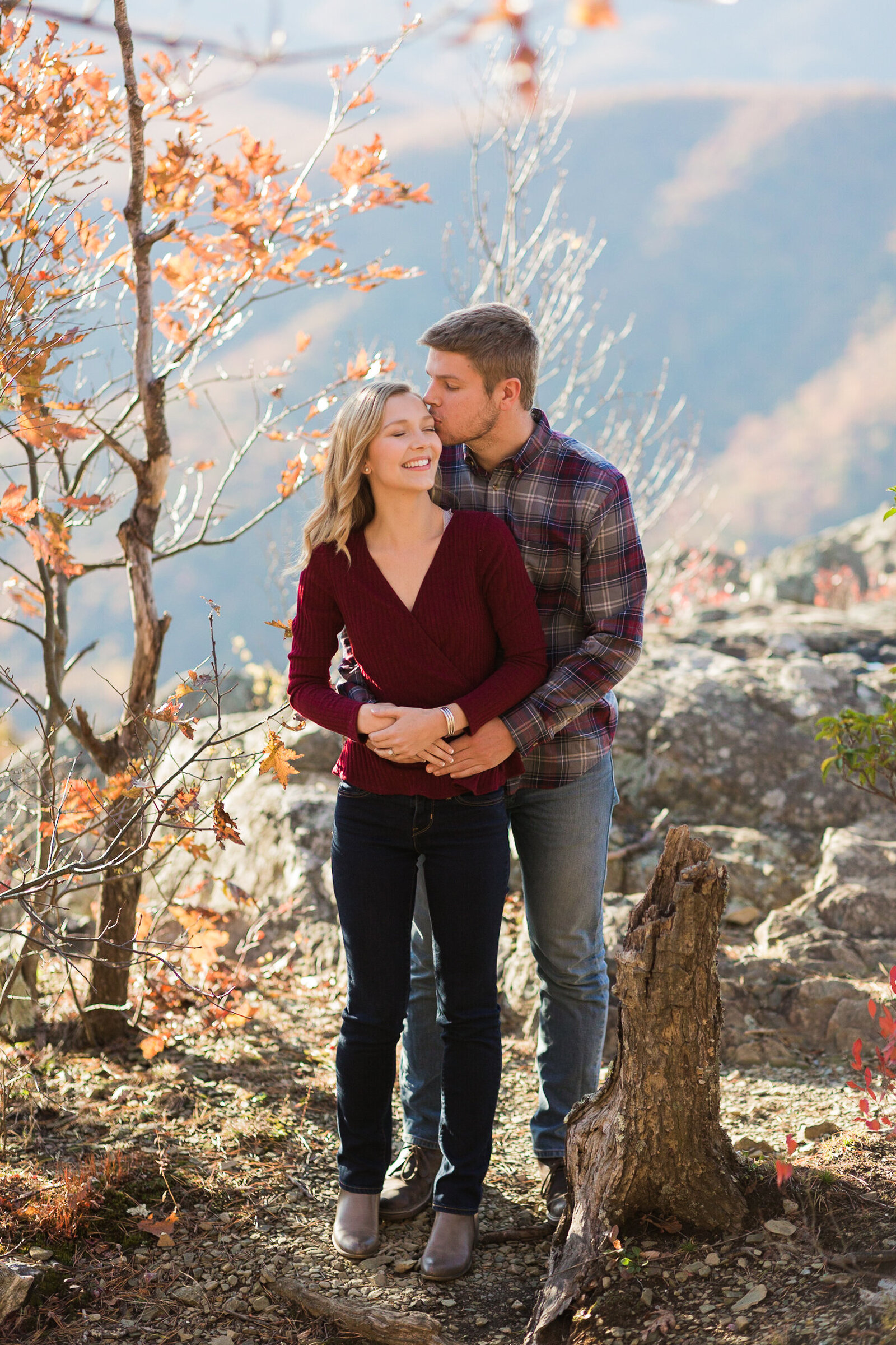 Fall Mountain Engagement Session in the Shenandoah Valley-14