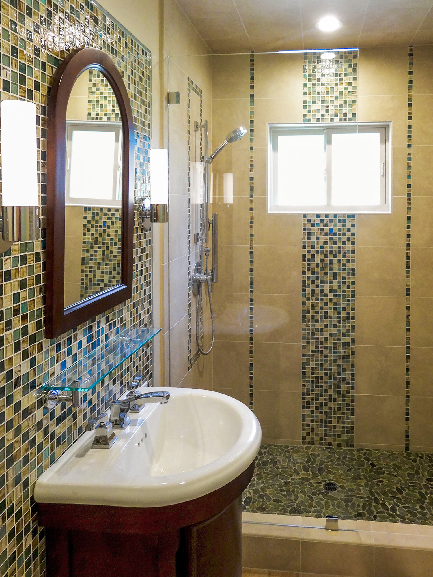 Mosaic Bath Tile Design