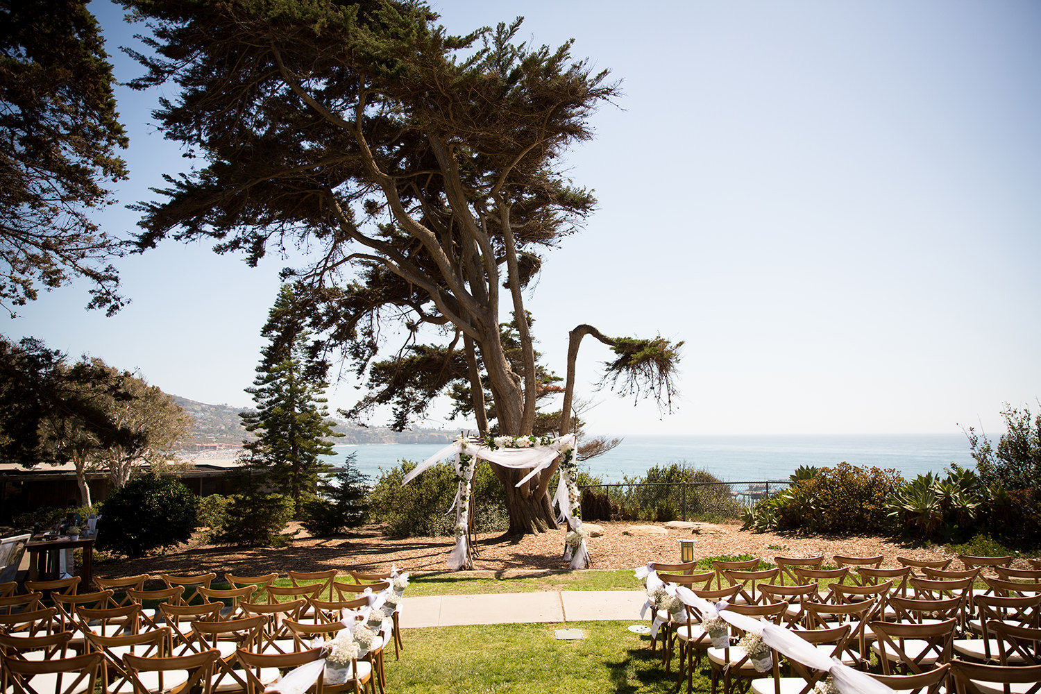 ceremony space at martin johnson house