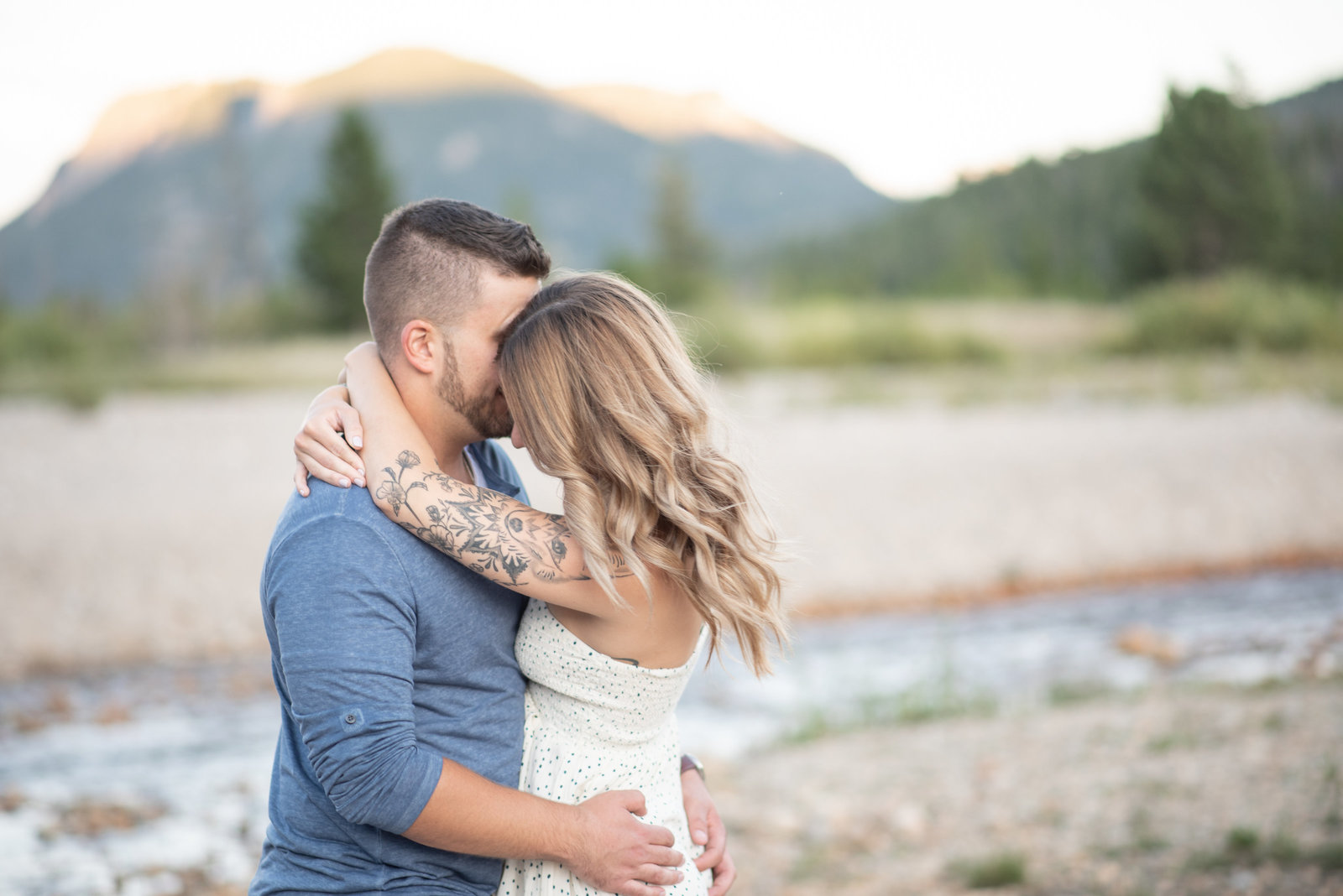 RMNP summer engagement  session