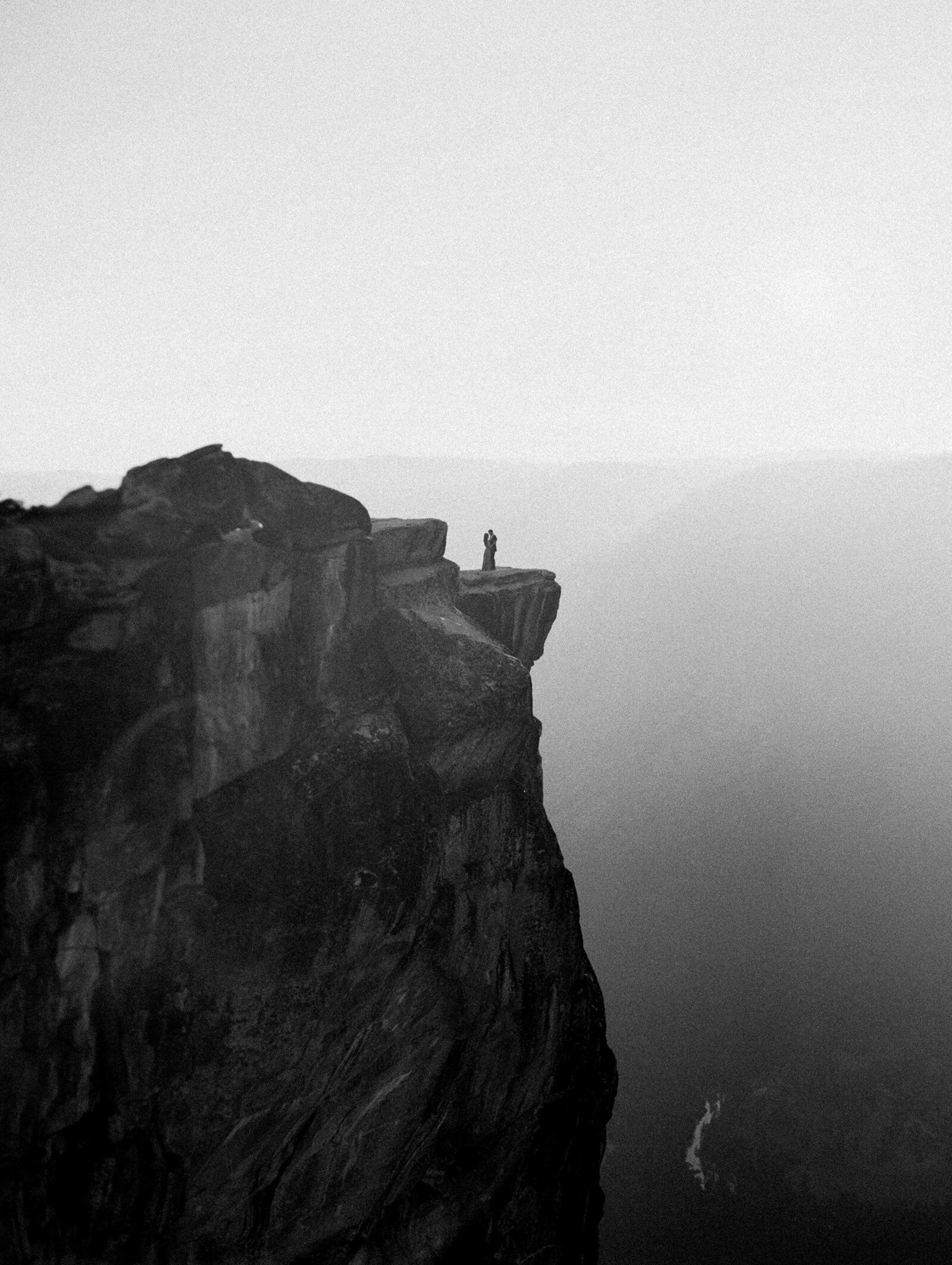 Elopement on Taft Point in Yosemite