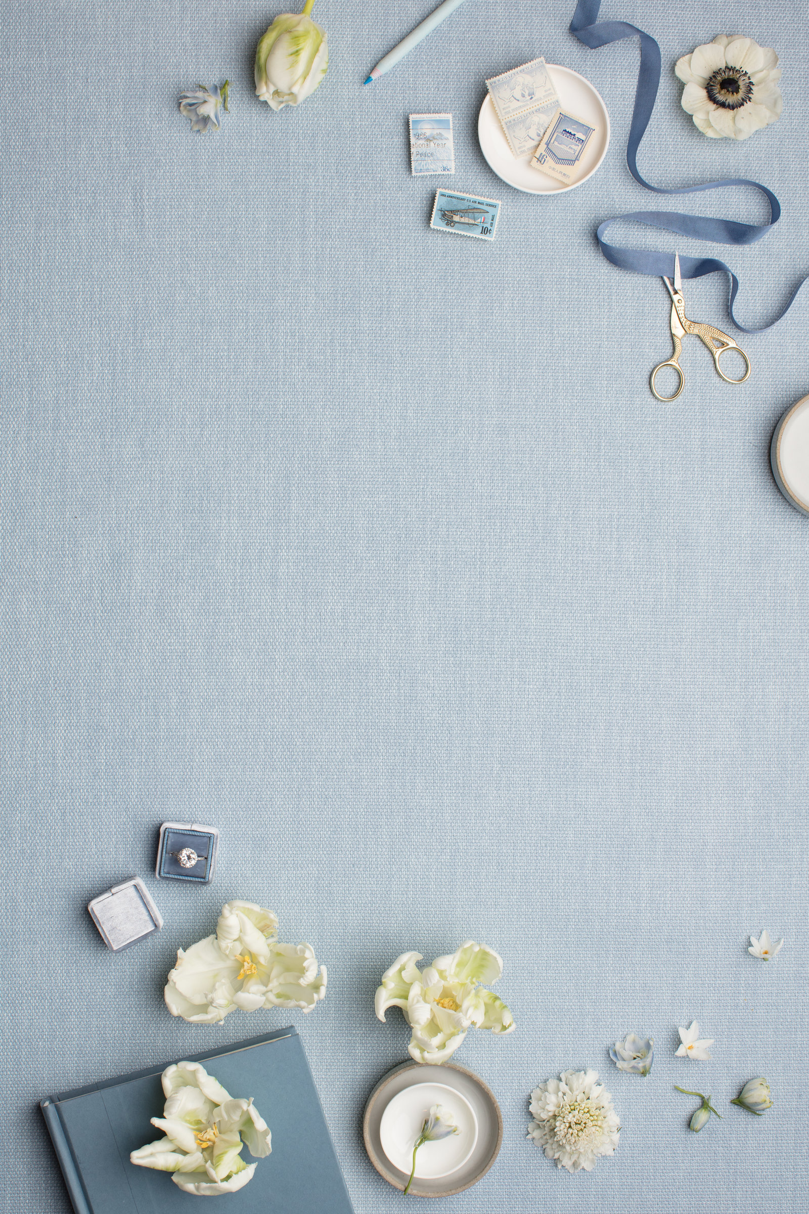 Styled Stock Photography_Stationery Designers_French Blue_Dusty Blue03