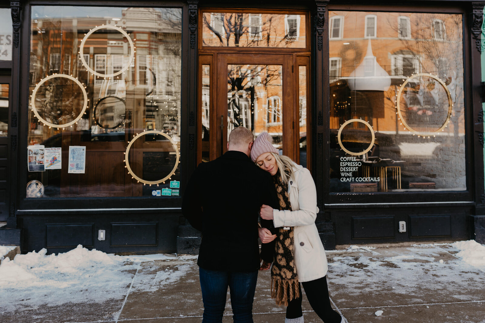 ellicottville ny engagement session