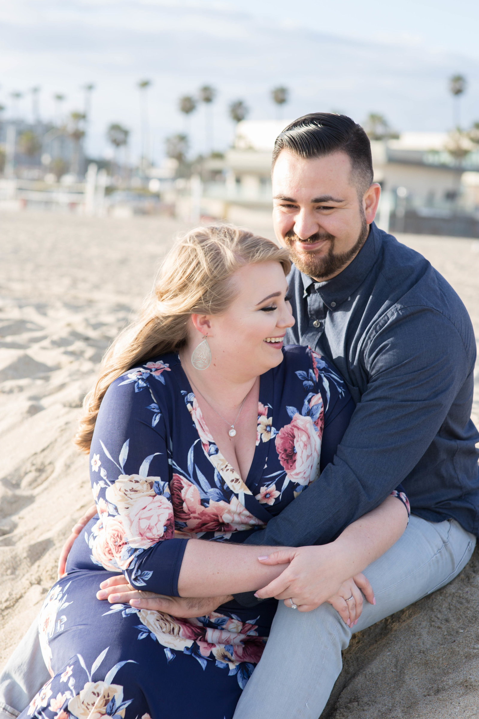 Huntington Beach engagement Engagement Session at Huntington Beach - Kelly H Photo