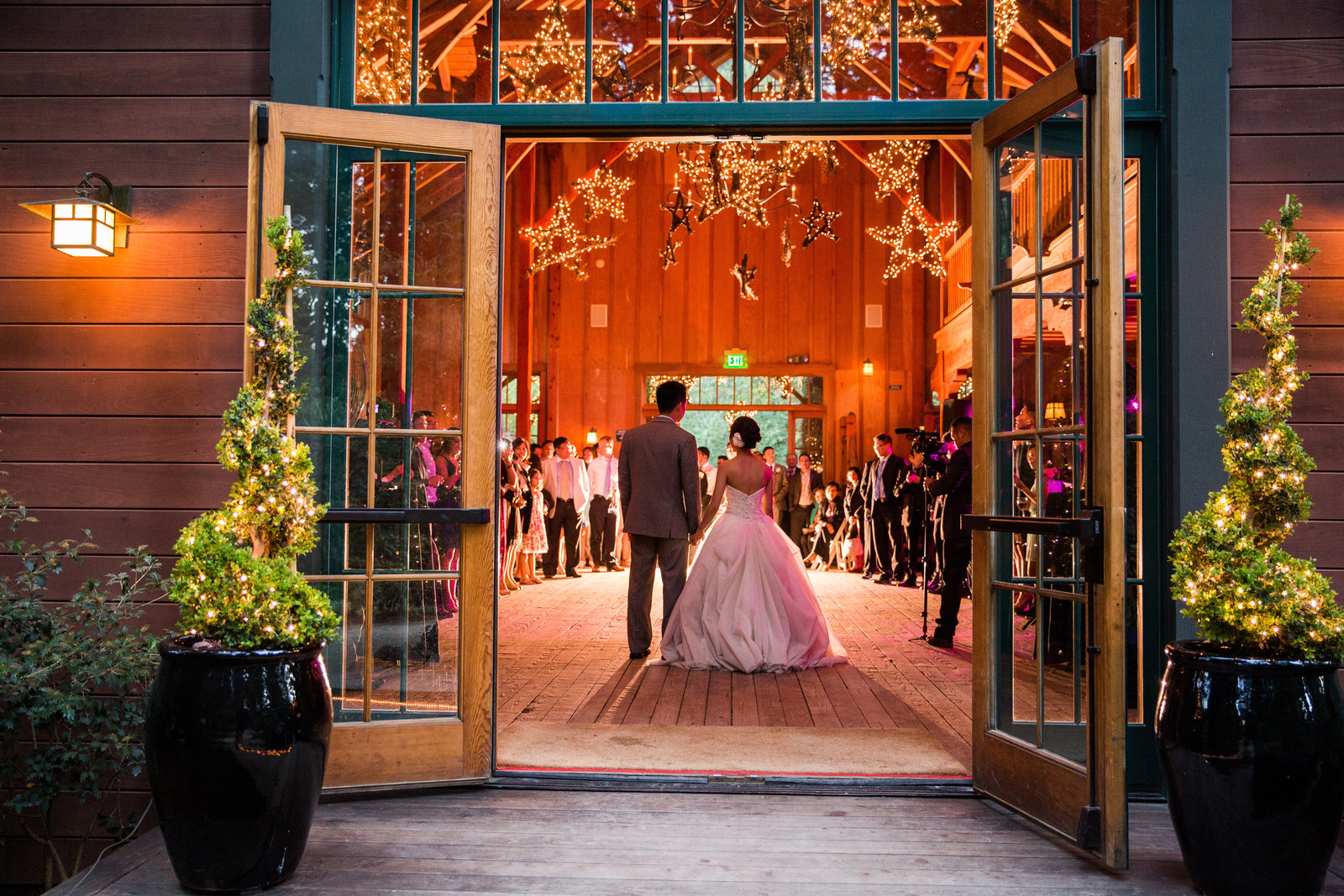 nestldown wedding forest los gatos california 16