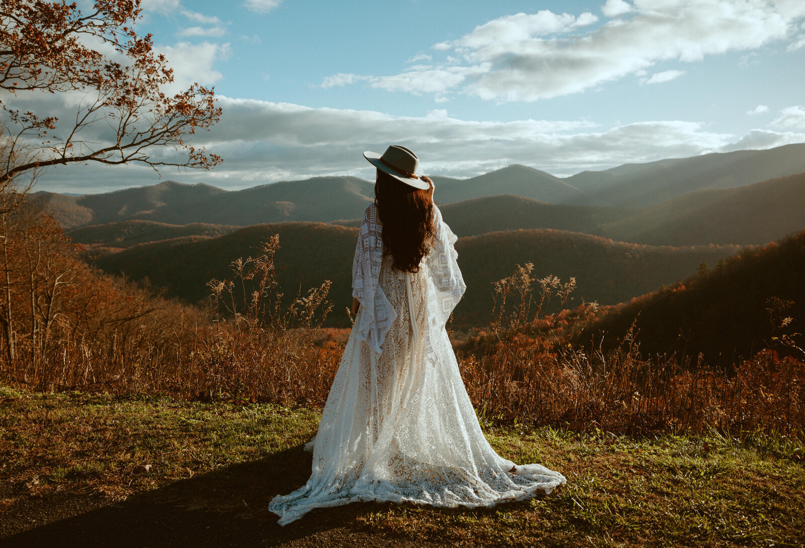 boho elopement photograpy