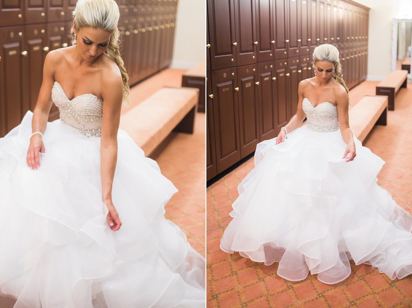 M Harris Studios_Trump National Golf Club Wedding_bride in wedding gown portrait