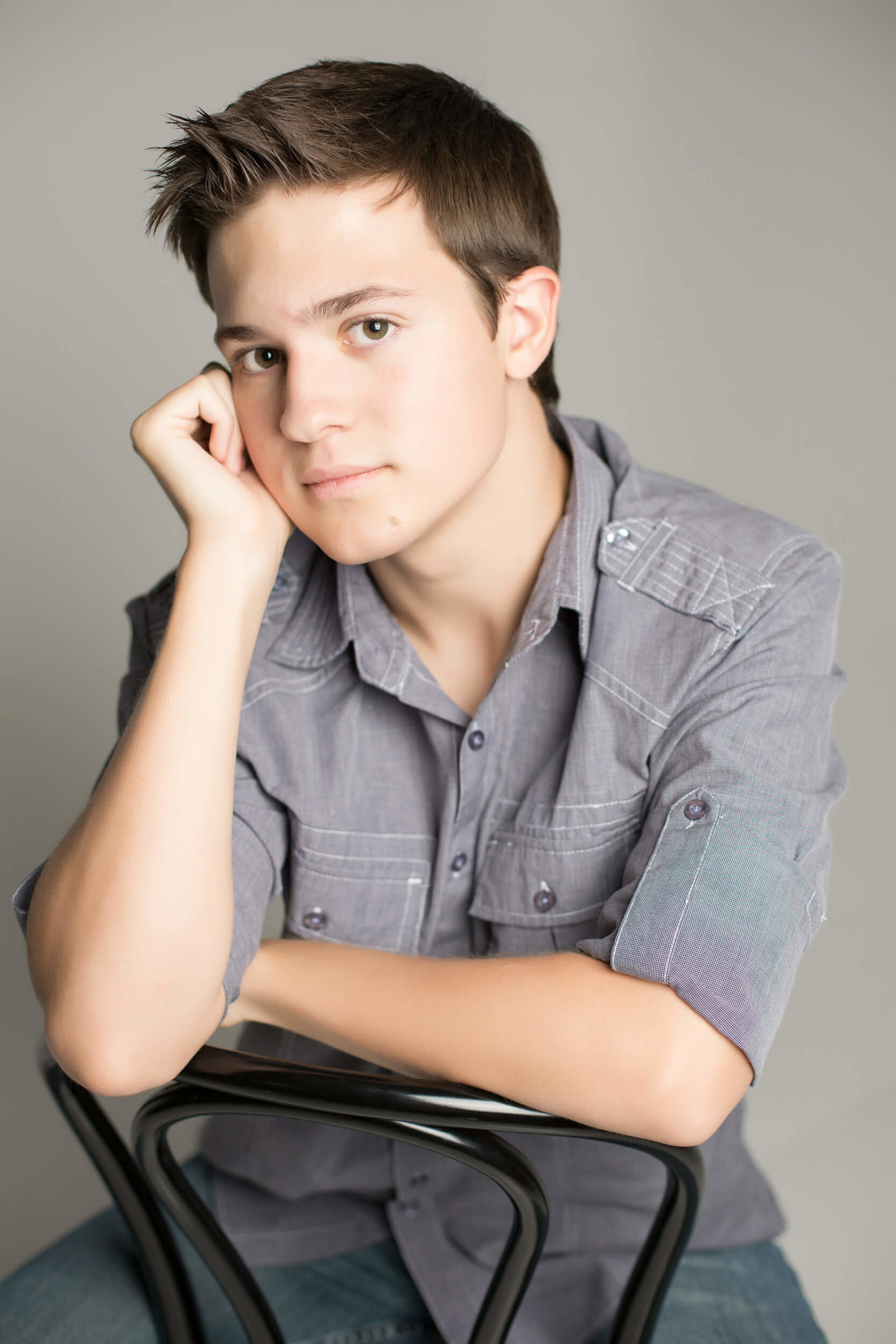 arizona in studio senior boy photography