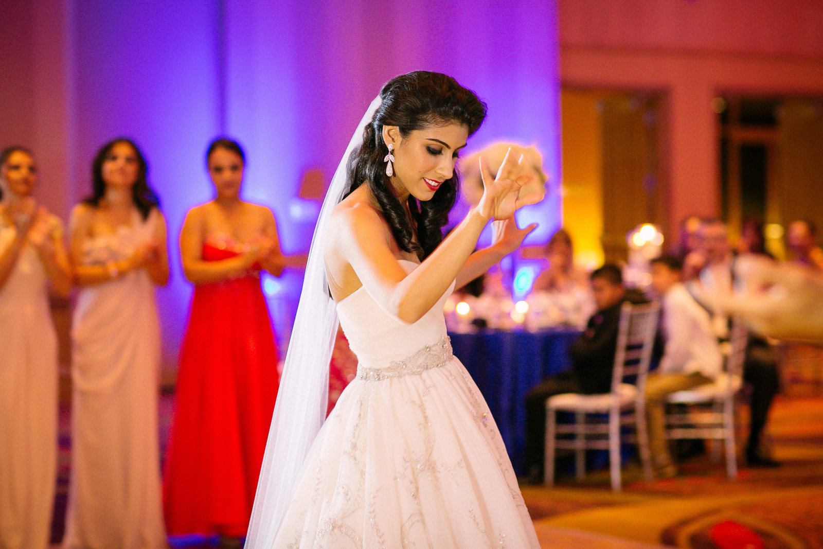 Bride dancing at Landsdowne Resort