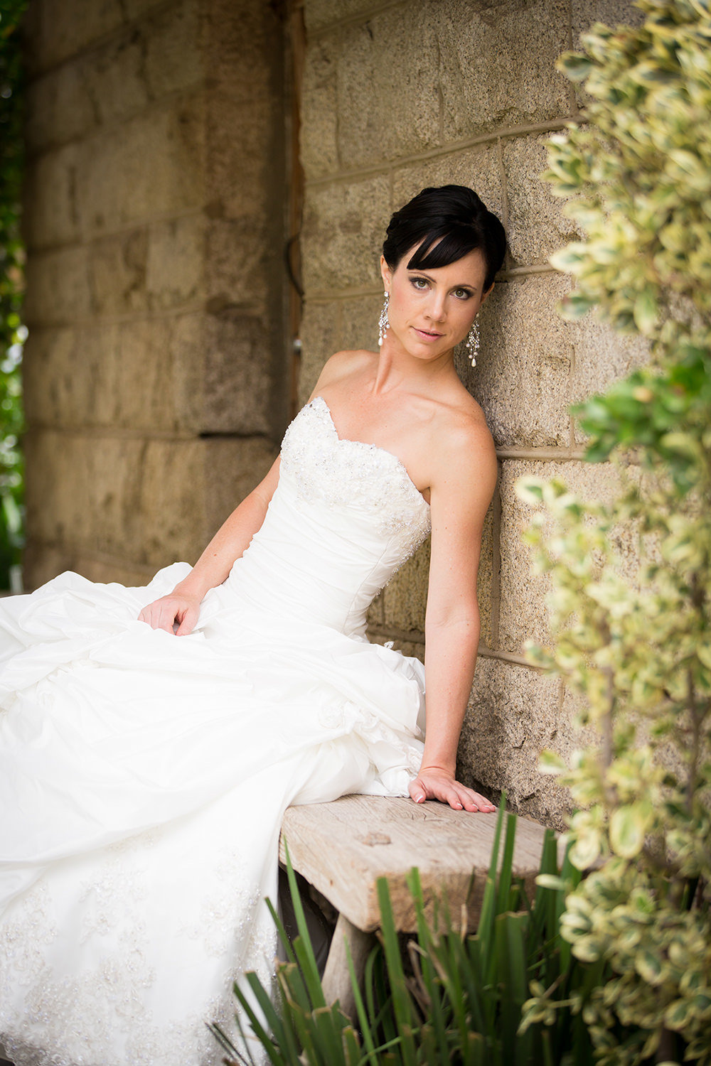 lovely bride image at leoness cellars