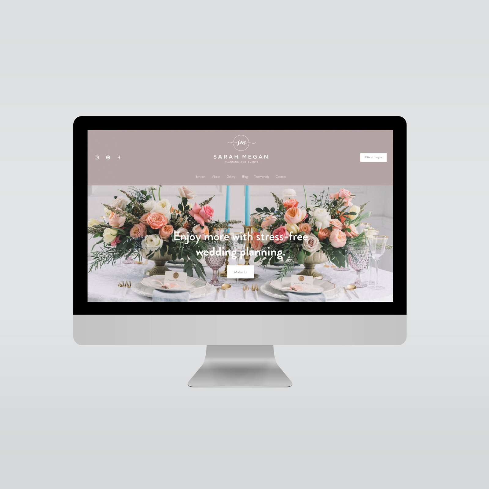 EVENTS BY SARAH MEGAN WEDDING PLANNER LOGO AND branding-website-ig