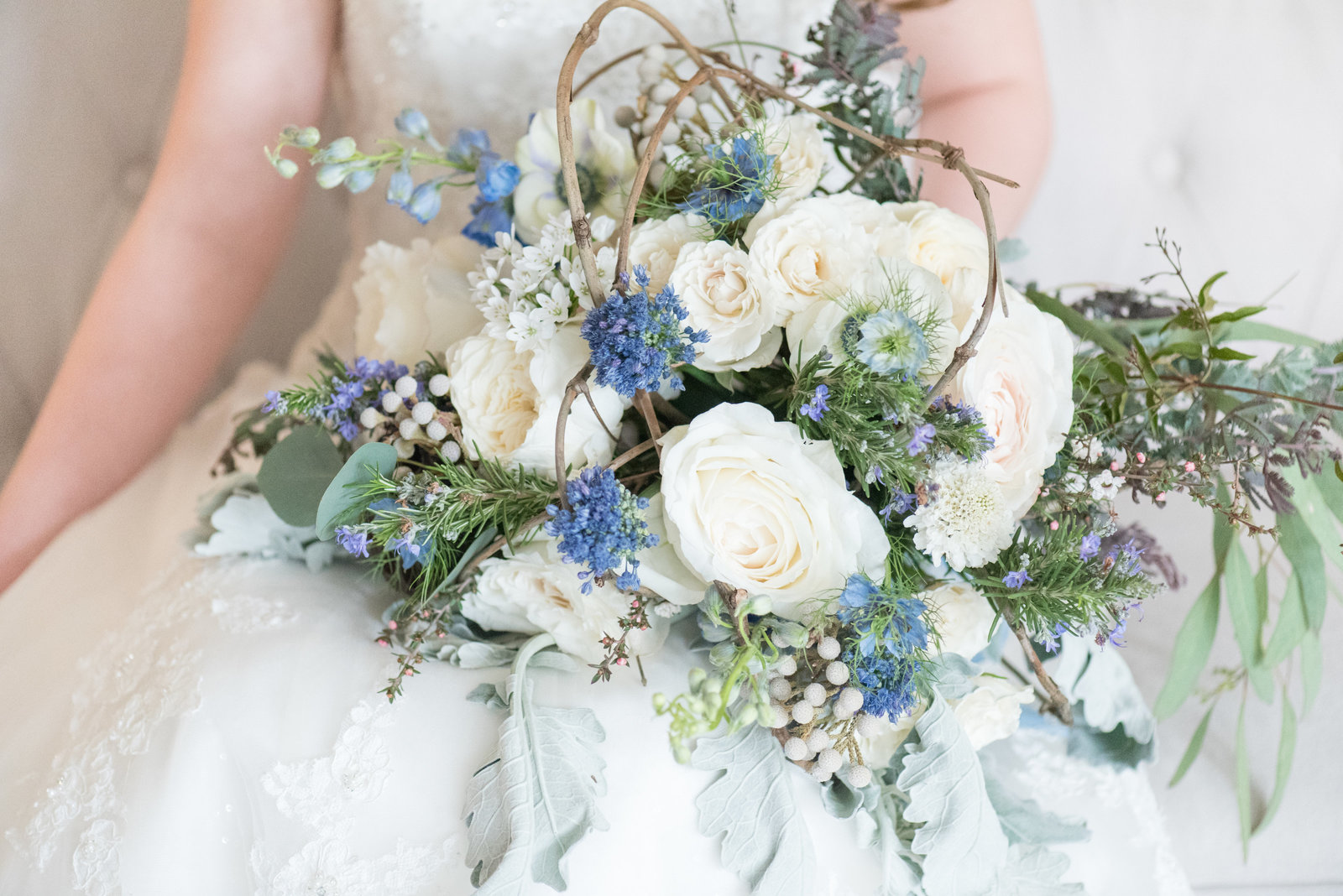 Dusty Blue Styled Shoot - 204