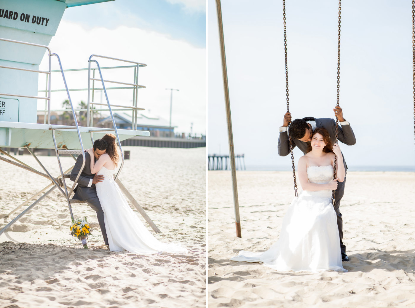 Pismo Beach Bride and Groom