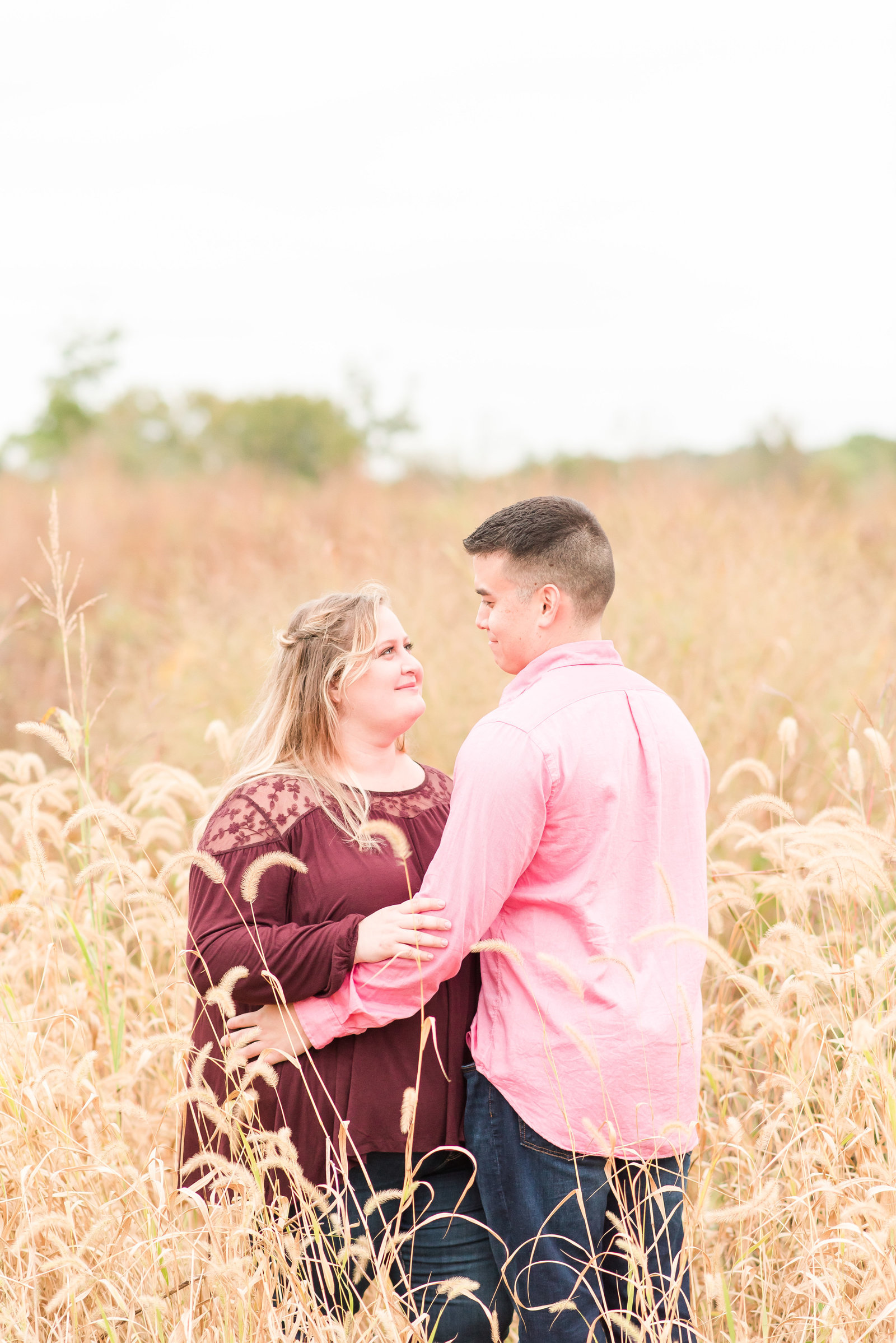 Engagement Session at Beckley Creek Park